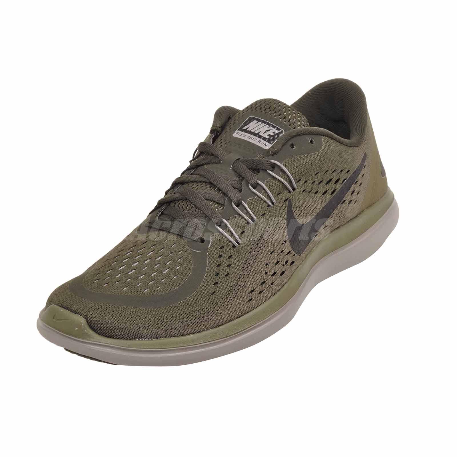 5fb4d53571a Nike Flex 2017 RN Running Mens Shoes Sequoia Olive 898457-300