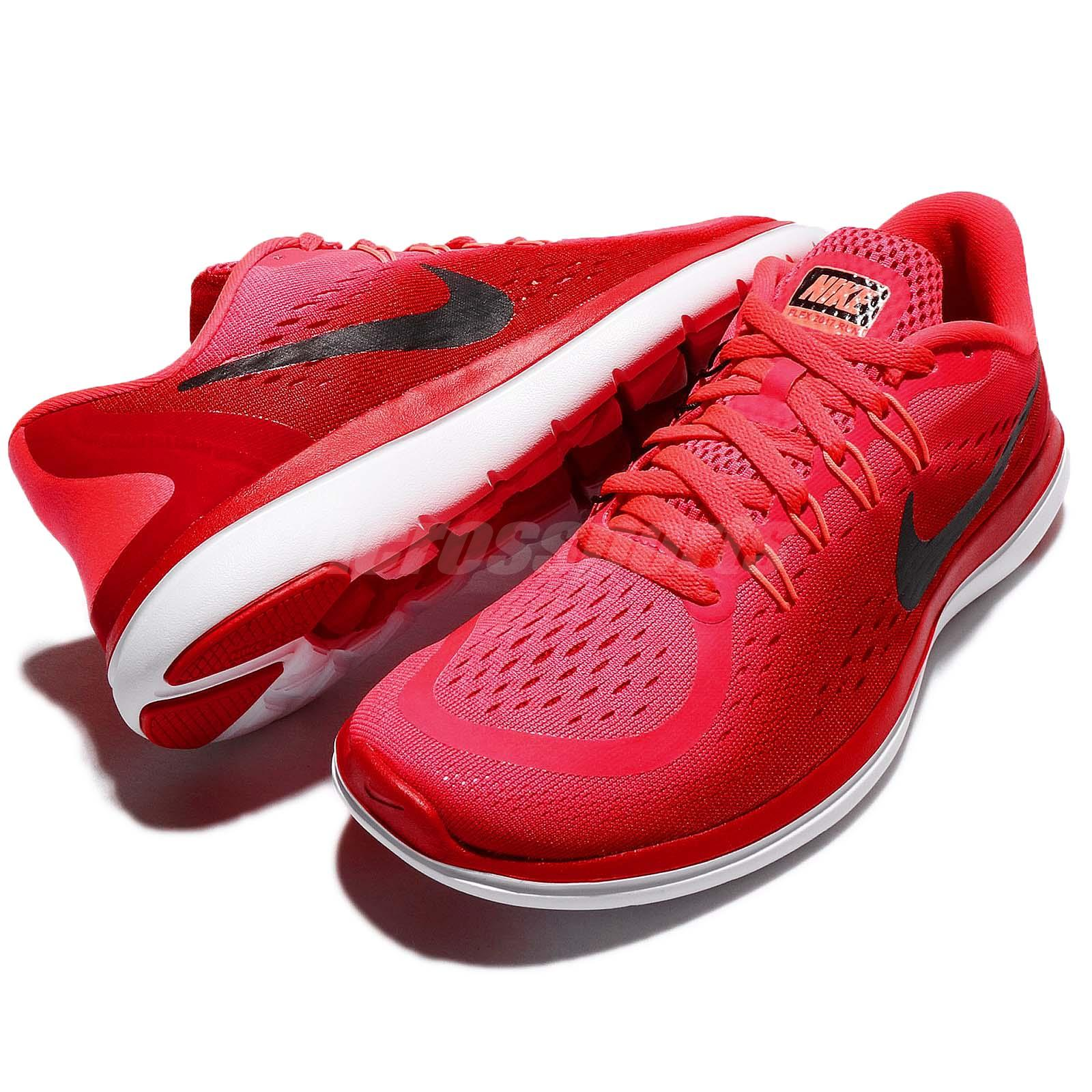 6dcf4d94a820b Wmns Nike Flex 2017 RN Run Solar Red Black Women Running Shoe ...