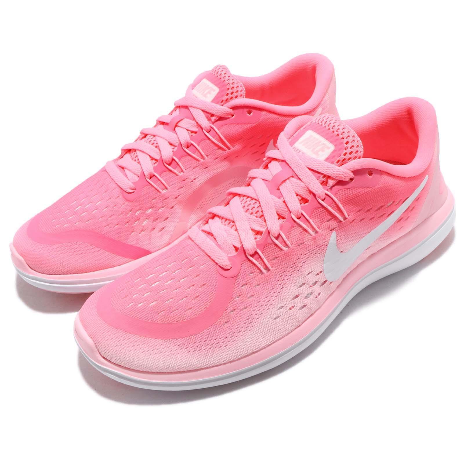 f17089fd08e Details about Wmns Nike Flex 2017 RN Pink Sunset Pulse Women Running Shoes  Sneakers 898476-601