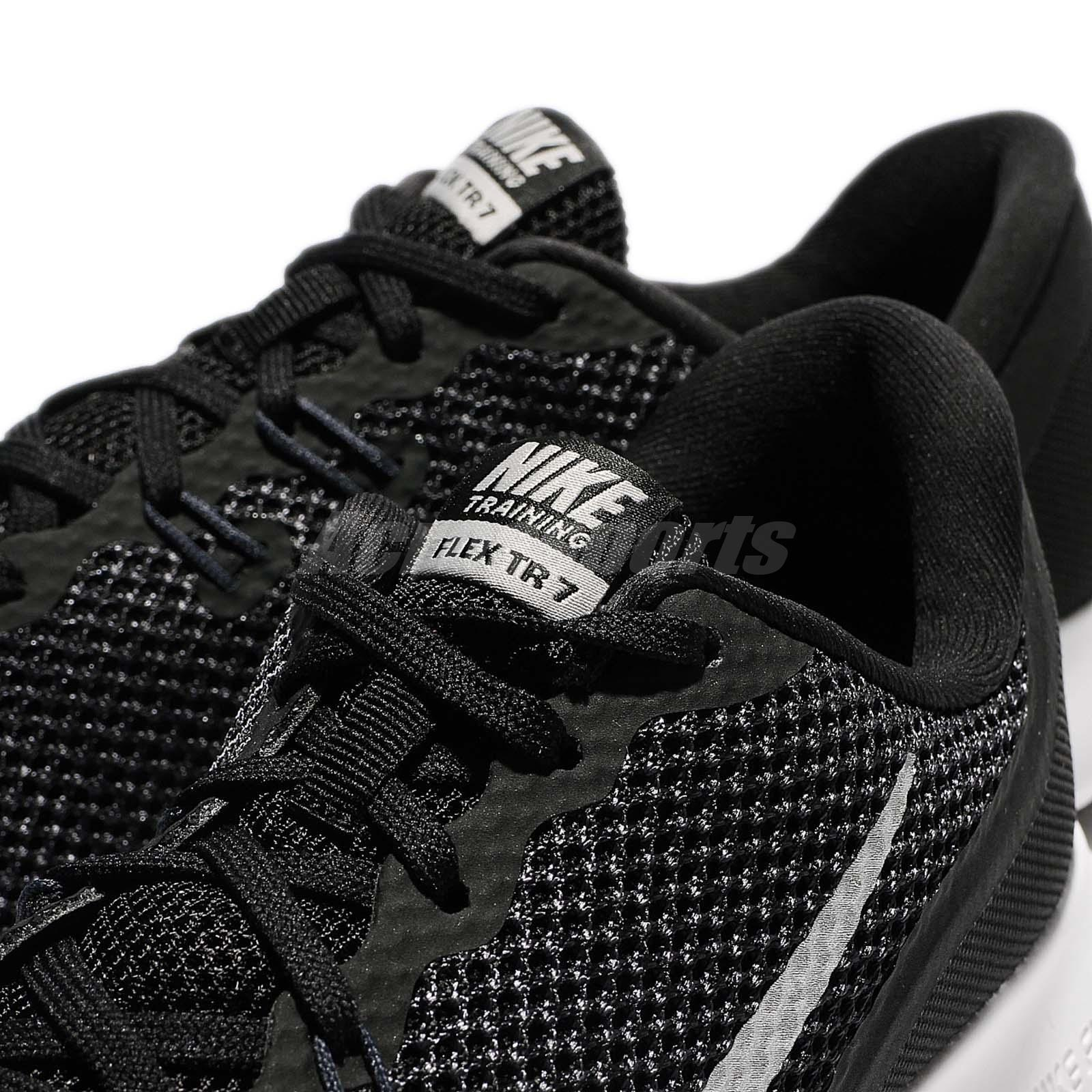 Training Nike Wmns Women about 898479 7 Trainer Black Sneaker White Details VII Shoes Flex 001 0NnXwOPk8Z