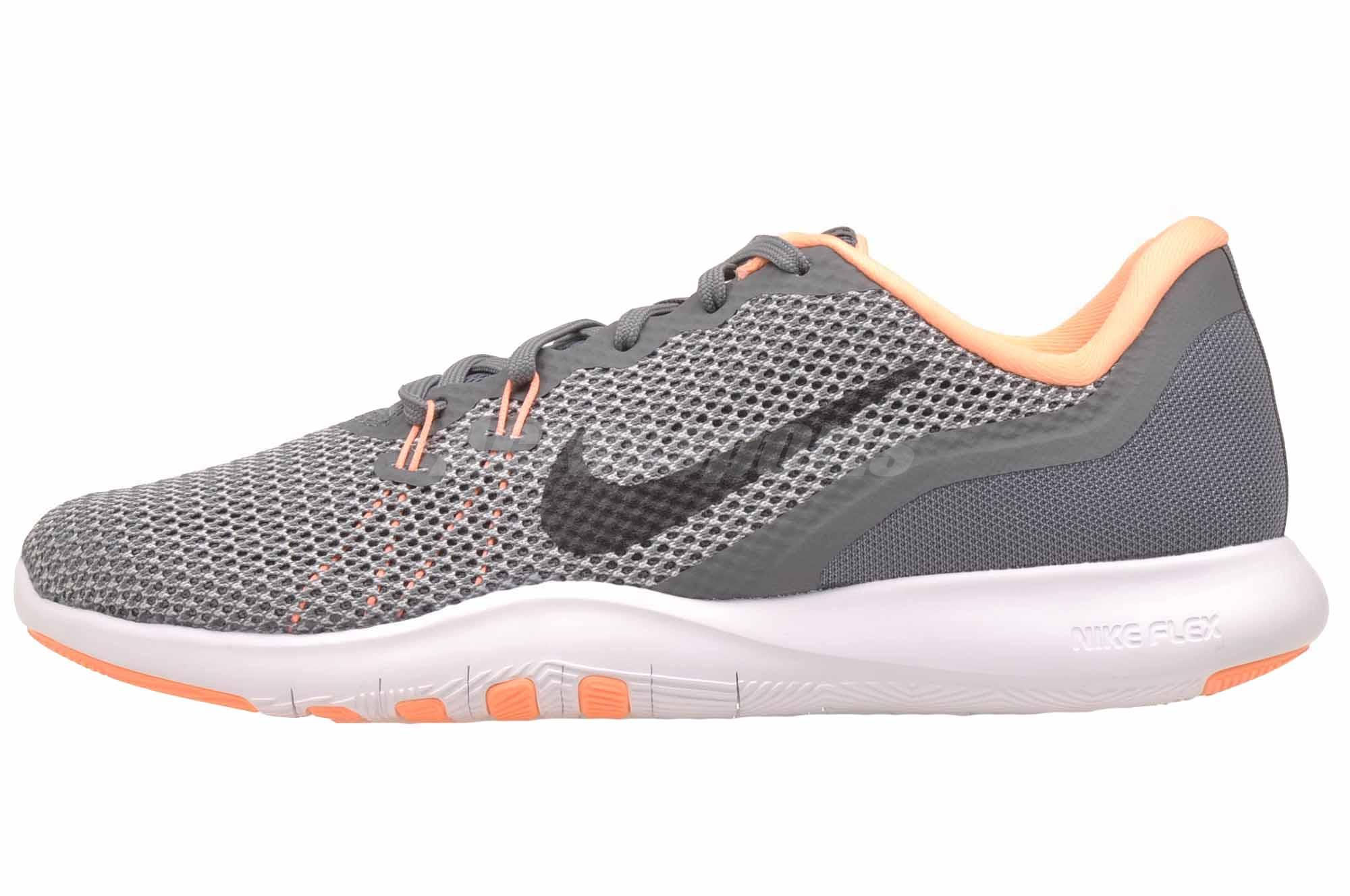 promo code 8ac51 b3b79 Details about Nike Wmns Flex Trainer 7 Cross Training Womens Shoes Grey  Sunset 898479-002
