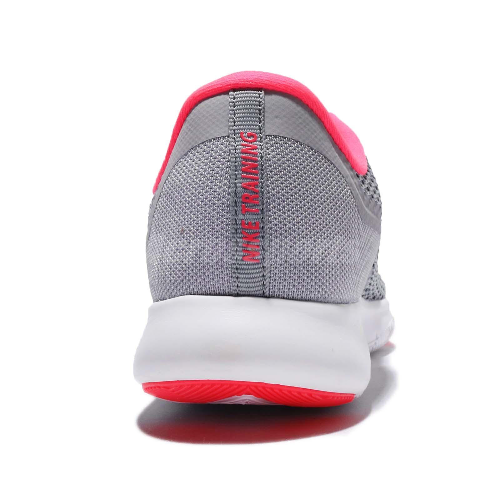 e7b190424d75 Nike Wmns Flex Trainer 7 VII Grey Pink Women Training Shoes Sneakers ...