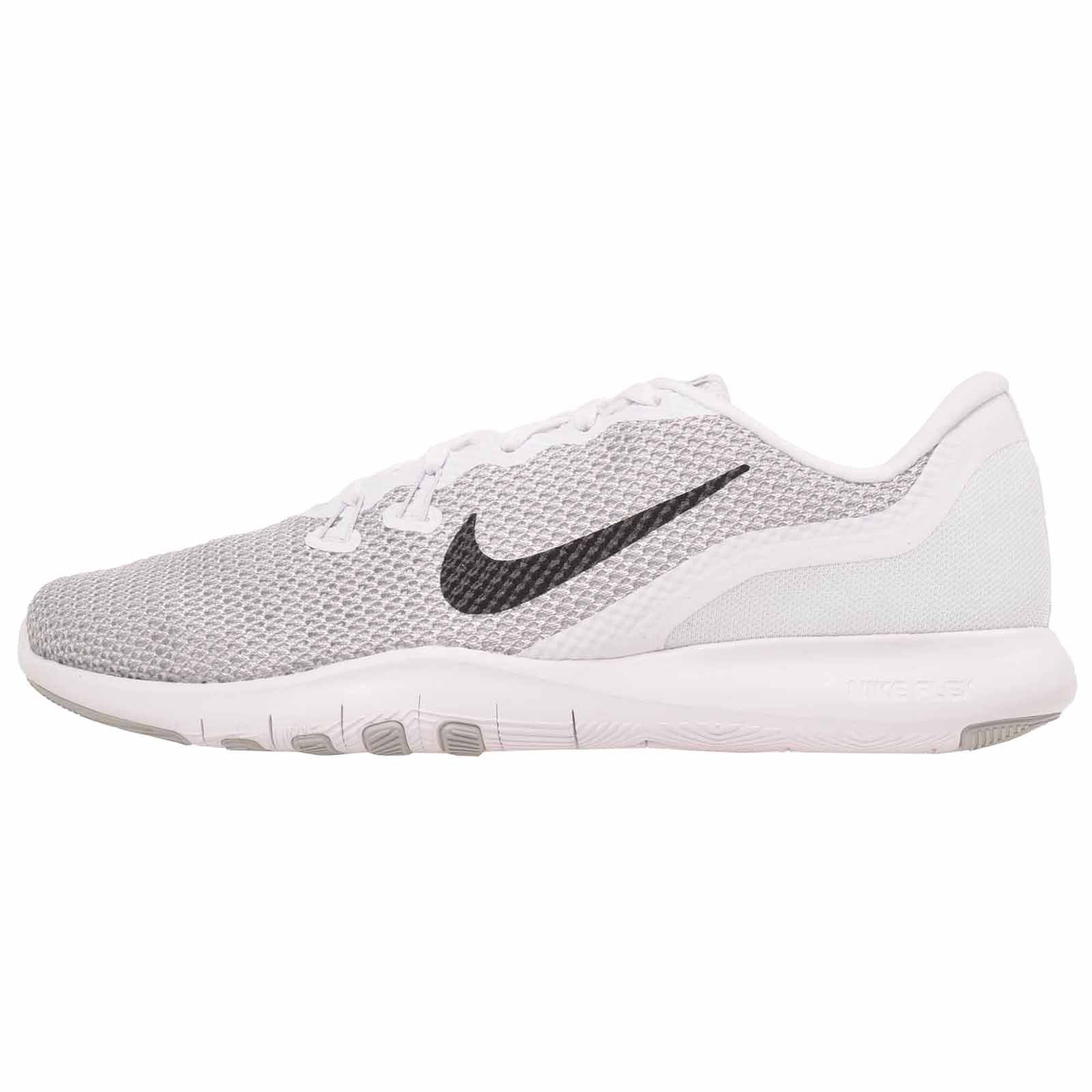 a373a786b89c Details about Nike Wmns Flex Trainer 7 Cross Training Womens Shoes White  Silver 898479-100