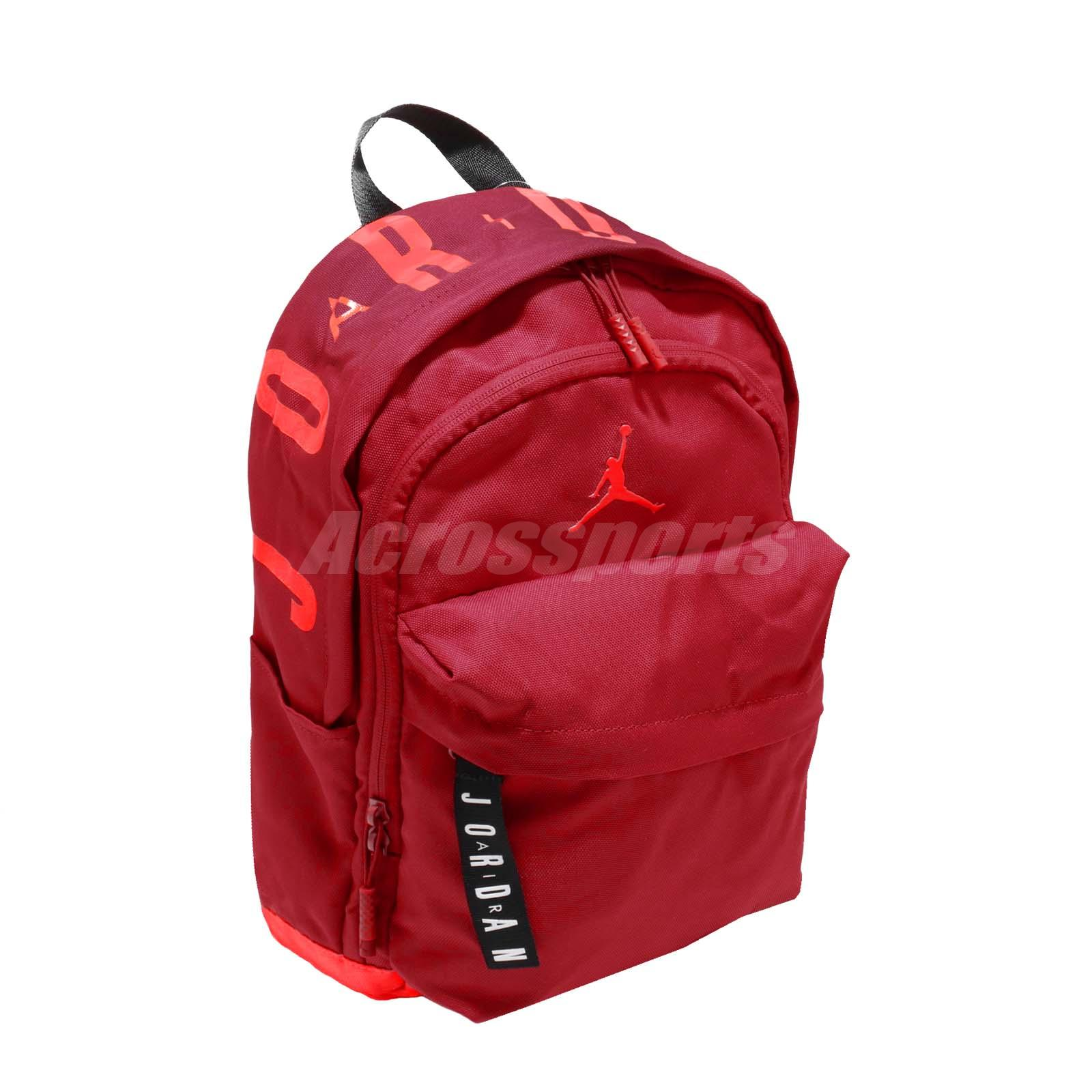 390c0eef2a53 Nike Jordan Air Patrol Pack 15L Red Orange Medium M Jumpman Kids Backpack  Bag
