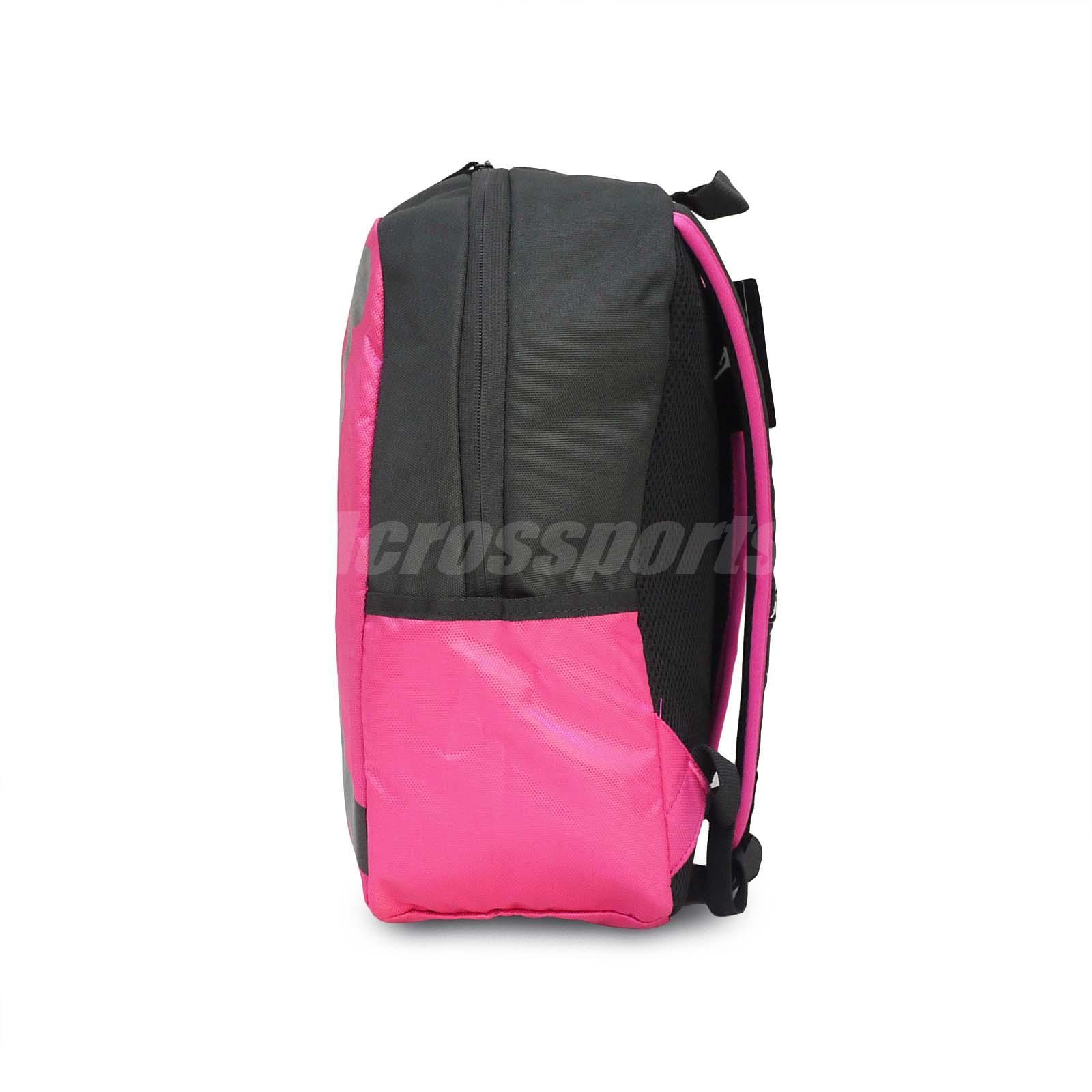 Nike Air Jordan ISO Pack Peach Pink Black Medium Kids Backpack Bag ... dc66444a21c80