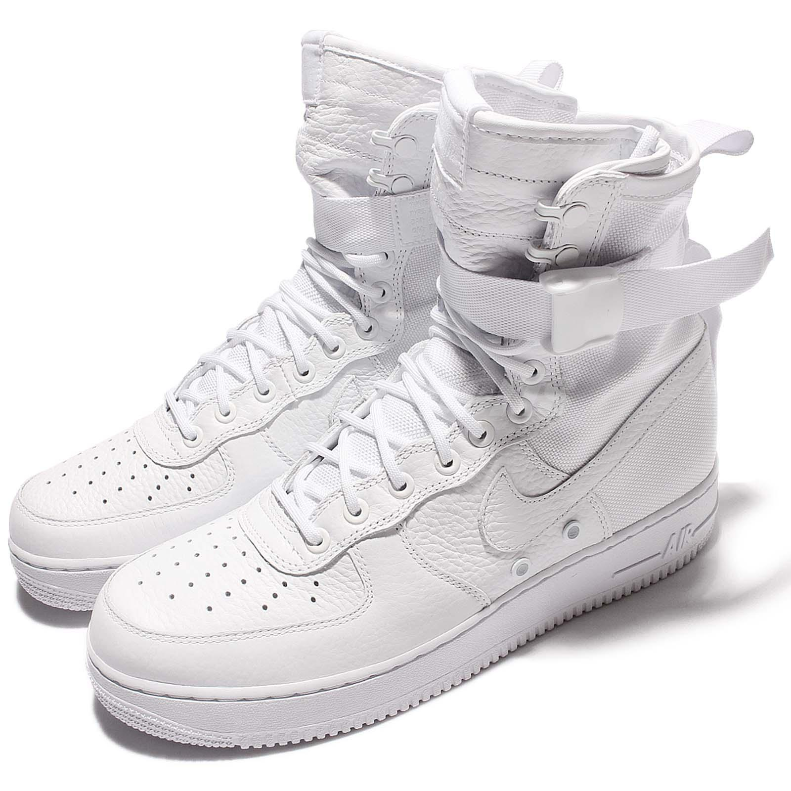Nike SF AF1 QS Special Field Complexcon Triple White Men Air Force 903270100