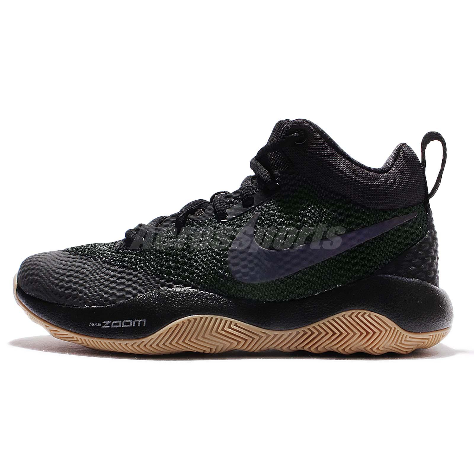 Nike Zoom Vick 3 Black Basketball Shoes For Girls  1923996f6