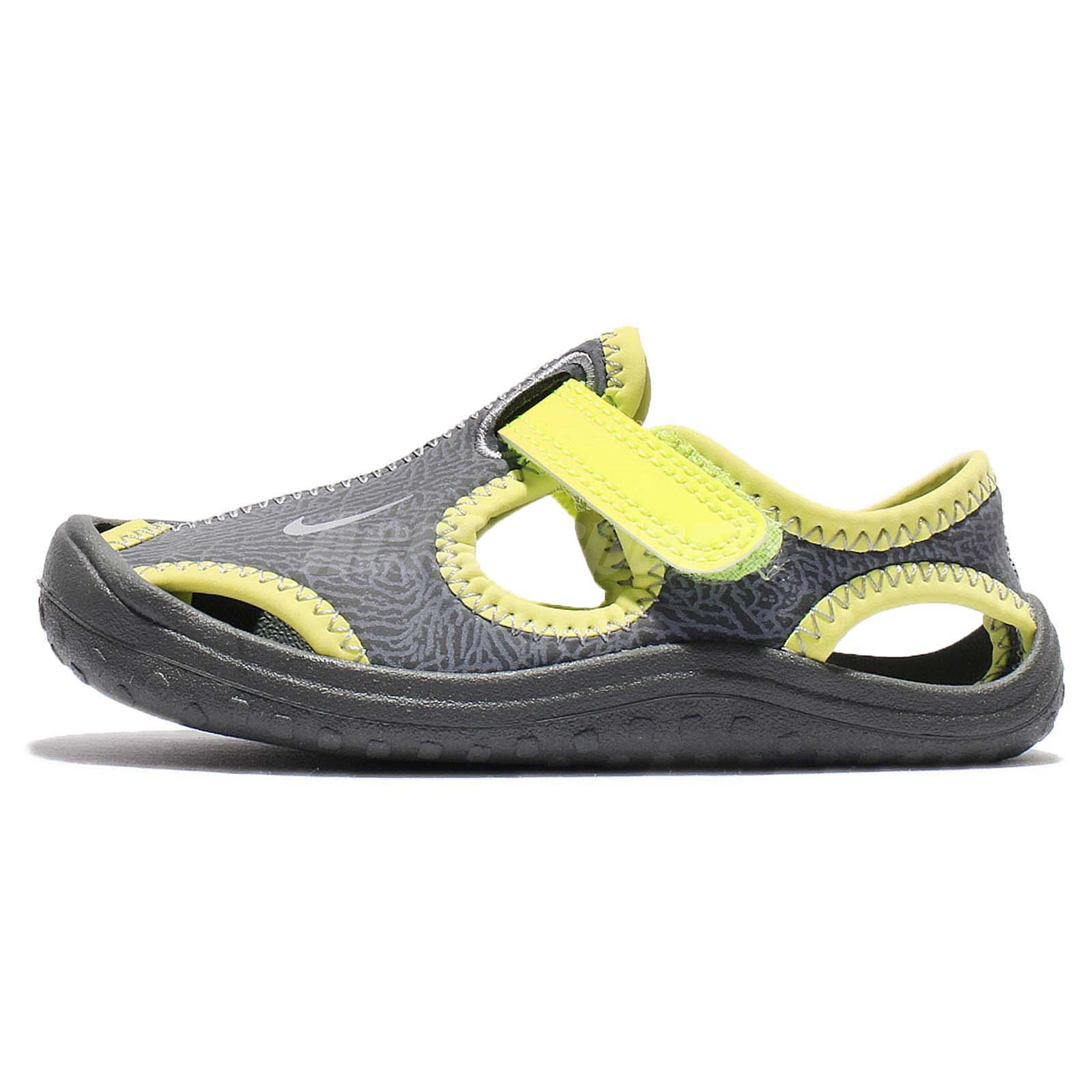 Nike Sunray Protect Td Volt Toddler Baby Infant Sandal