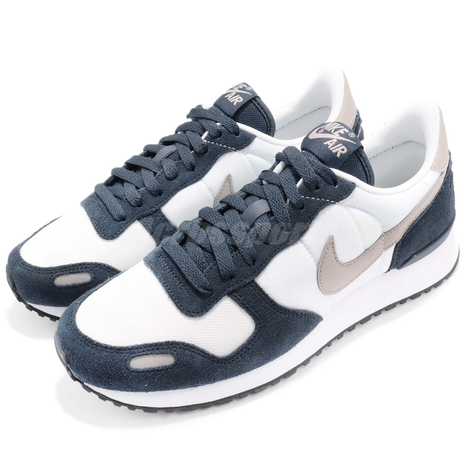 huge selection of ad9a9 ee8ef Details about Nike Air Vrtx Vortex Armory Navy Cobblestone White Men  Running Shoes 903896-400