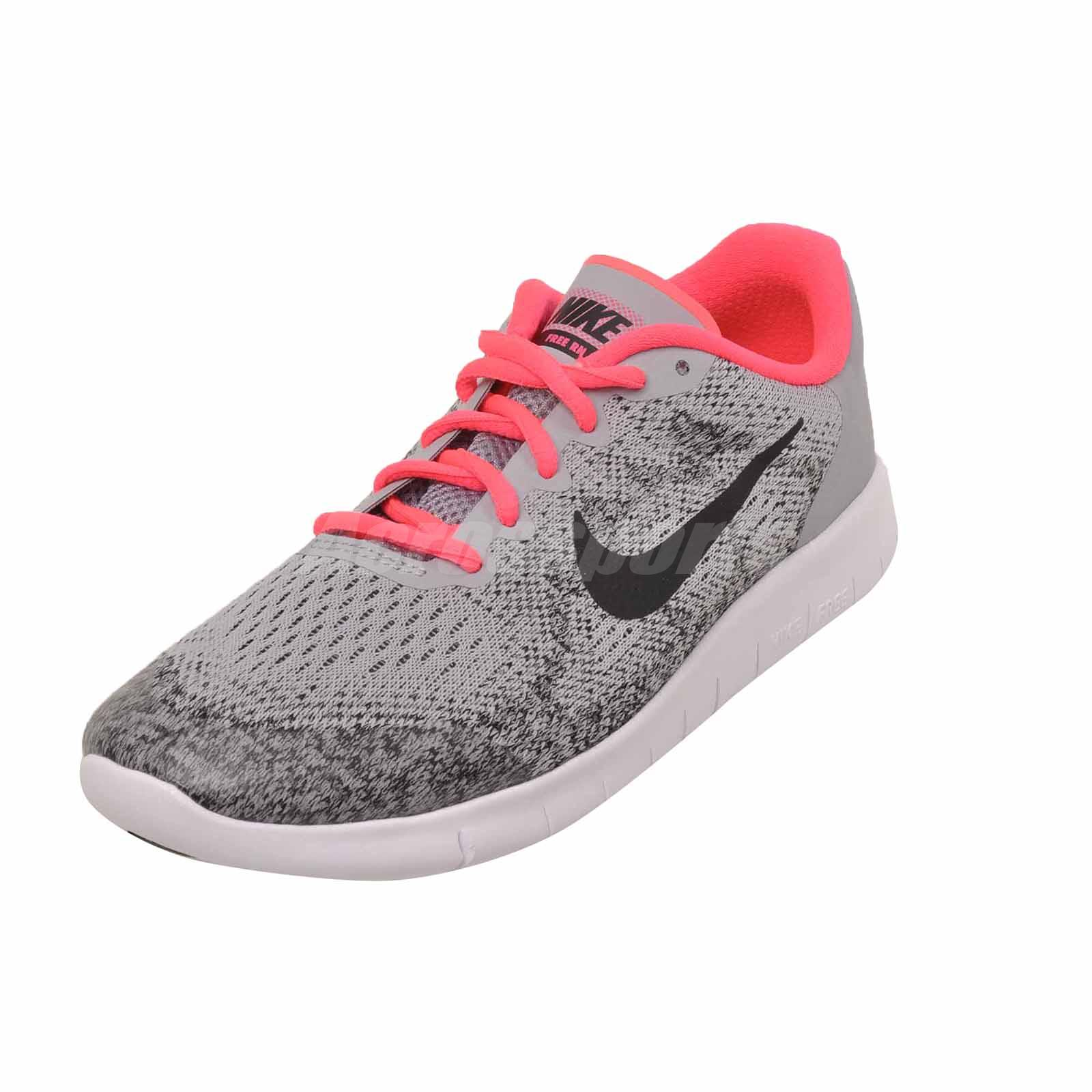 Shoes Kids Free Running Grey Rn Nike 2017 Wolf Youth Womens Gs wIq0817Z