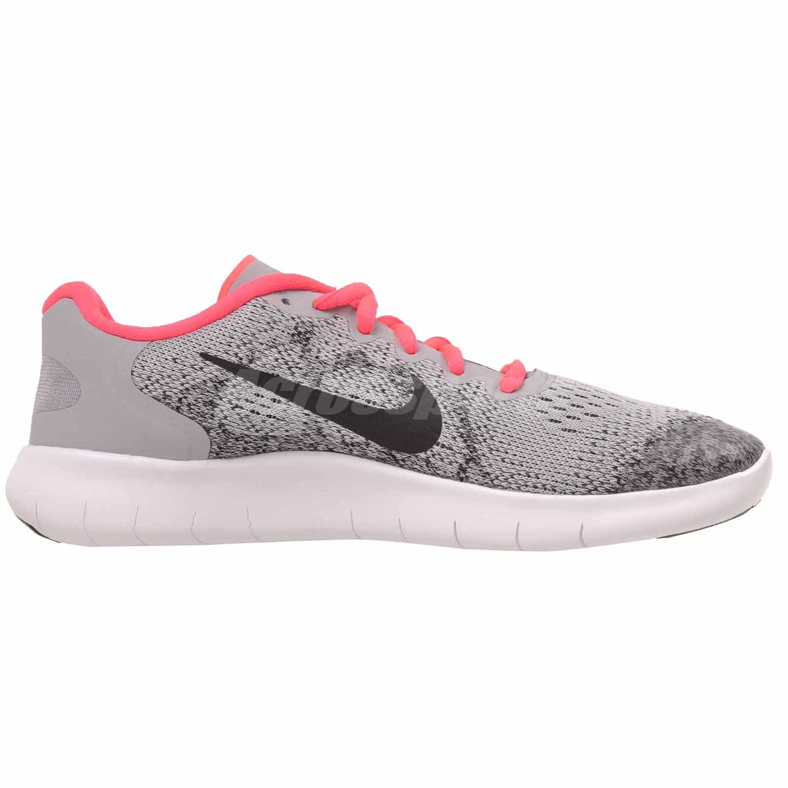 6a258b398117 Nike Free RN 2017 GS Kids Youth Womens Running Shoes Wolf Grey ...