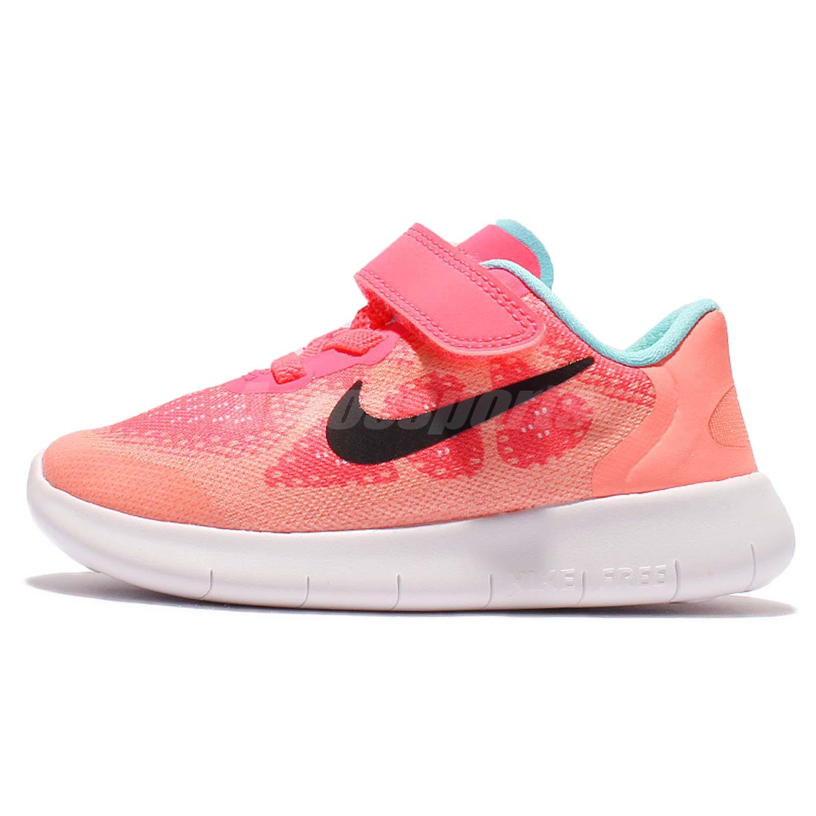 0dfb2323c35 Nike Free RN 2017 TDV Run Racer Pink Toddler Baby Running Shoes 904261-600