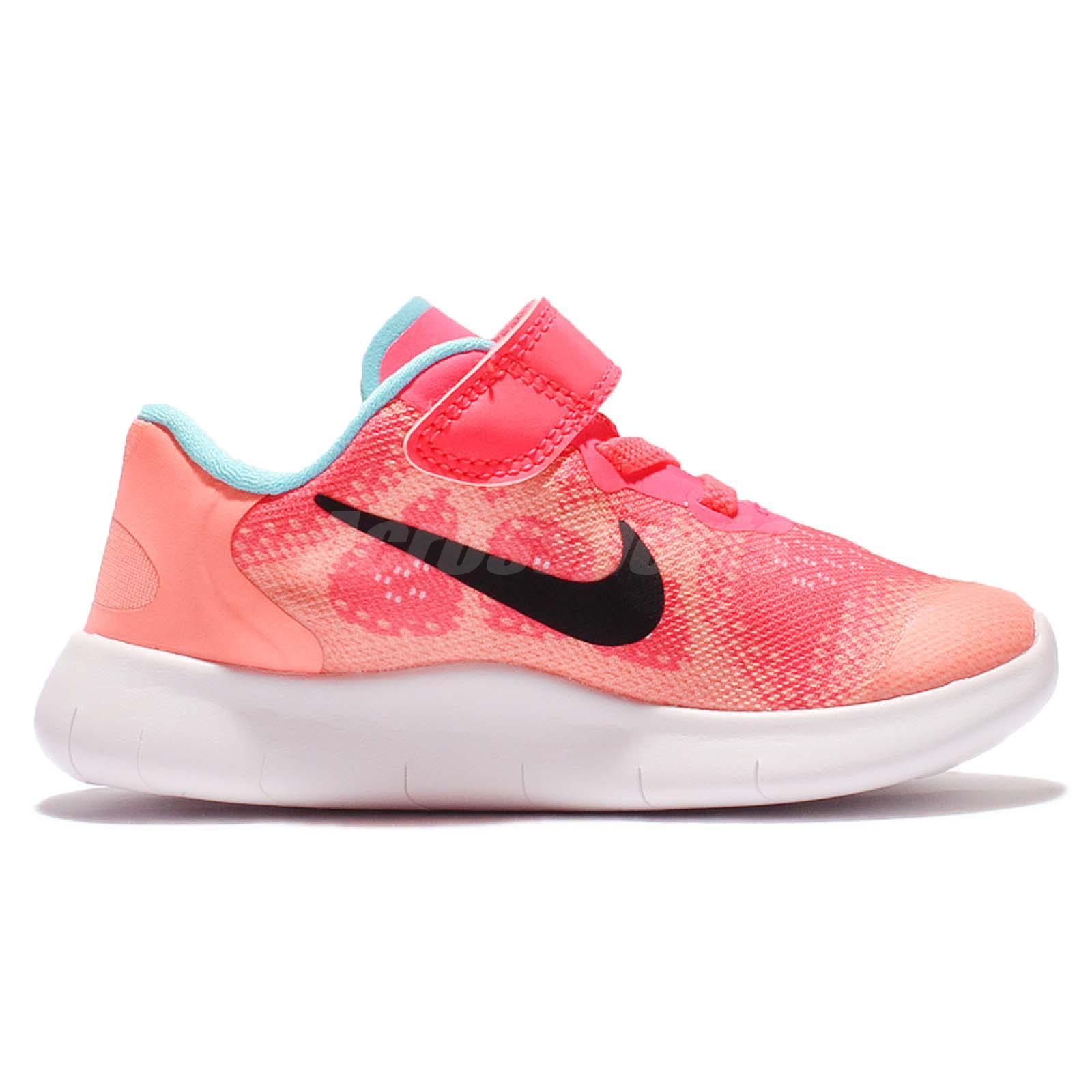 timeless design aab66 b6da4 Nike Free RN 2017 TDV Run Racer Pink Toddler Baby Running Shoes 904261-600  | PrestoMall - Accessories