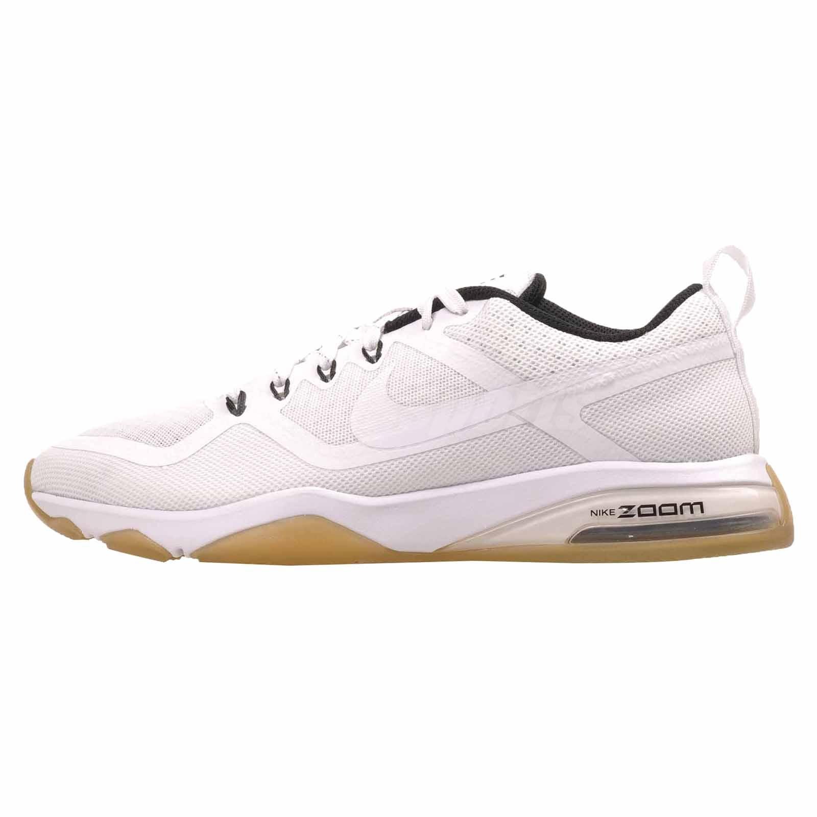 0b62c40f1bf1 Details about Nike Wmns Air Zoom Fitness Cross Training Womens Shoes White  Black 904645-101
