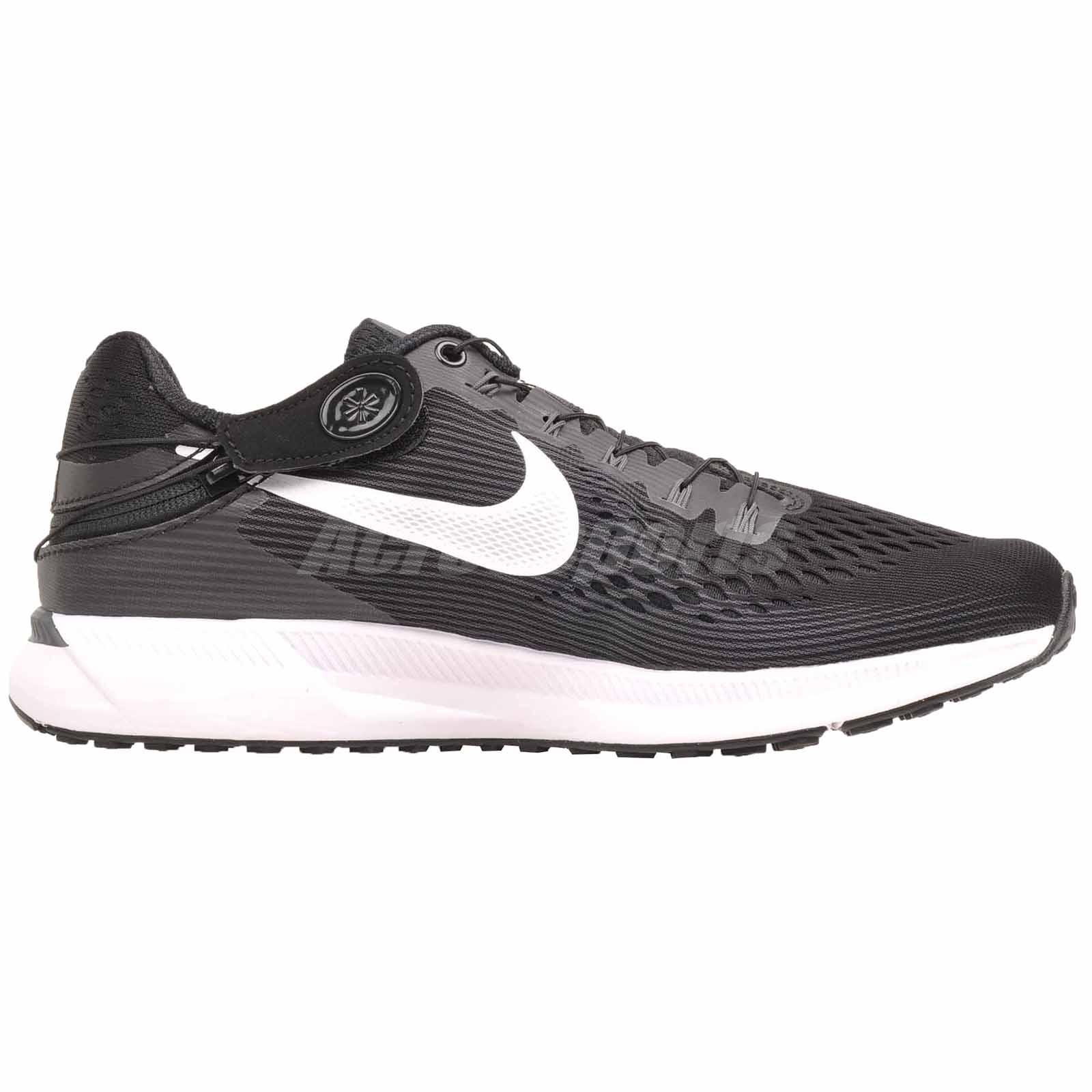 19405384a8984 Nike Zoom Pegasus 34 Flyease Running Mens Shoes Black White Grey ...