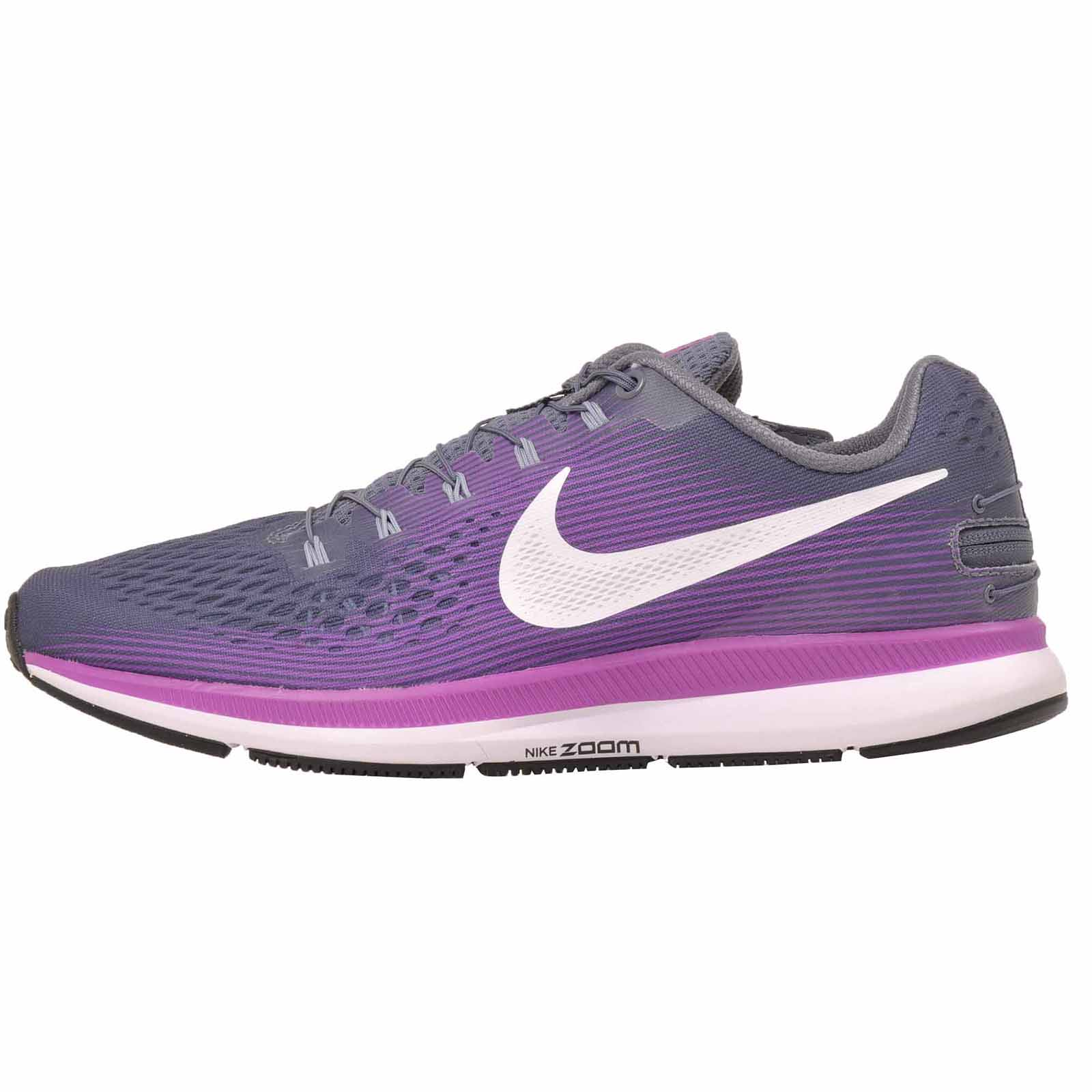 Details about Nike W Air Zoom Pegasus 34 Flyease Running Womens Shoes Light  Carbon 904679-005 163fcc7d7