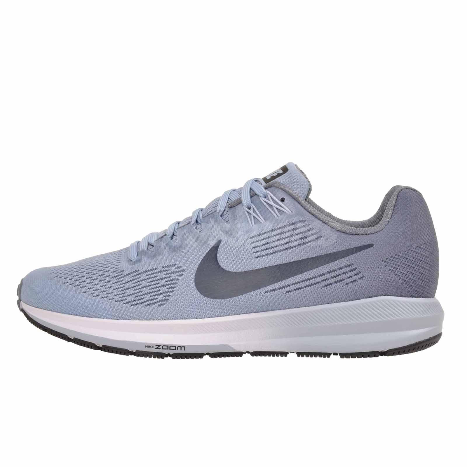 2766b943041 Nike W Air Zoom Structure 21 Womens Running Shoes Armory Blue 904701 ...