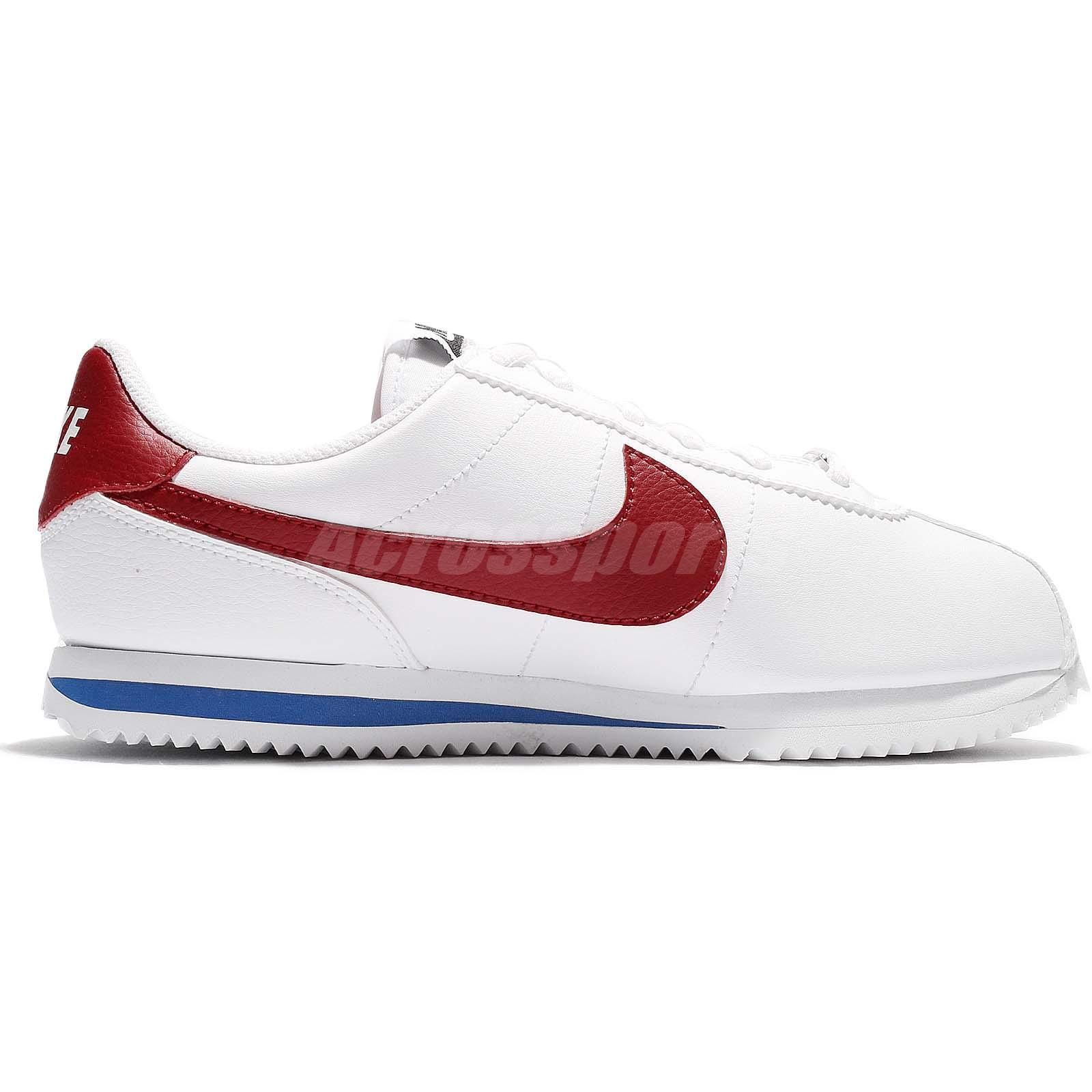 e5dcac12 Nike Cortez Basic SL GS Forrest Gump OG Varsity Red Women Kid Shoes ...