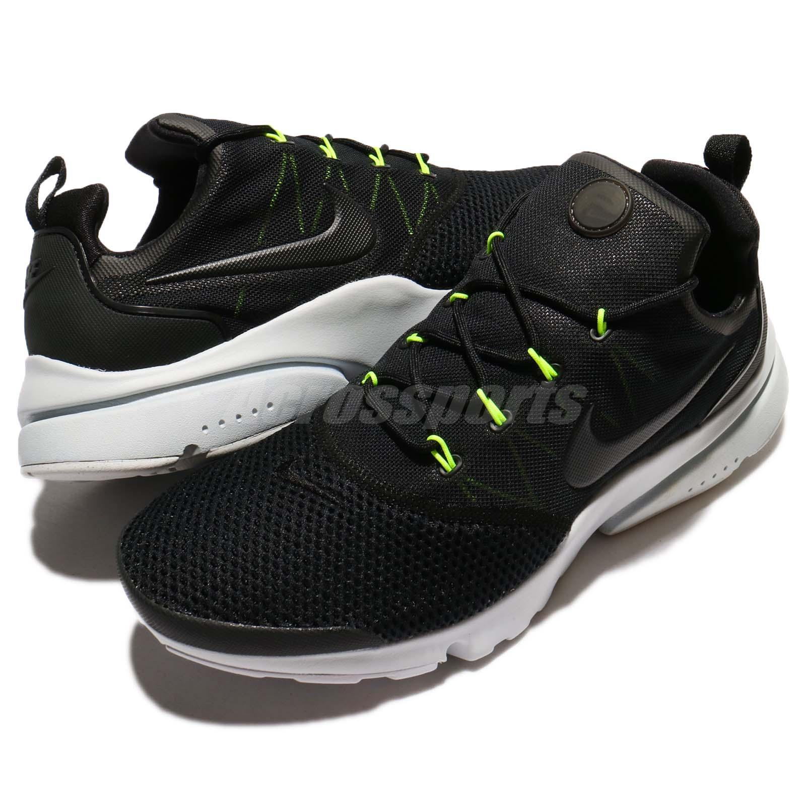 Nike Presto Volar Men Negro Volt Pure Platinum Men Volar Running Zapatos Zapatillas ff9bc0