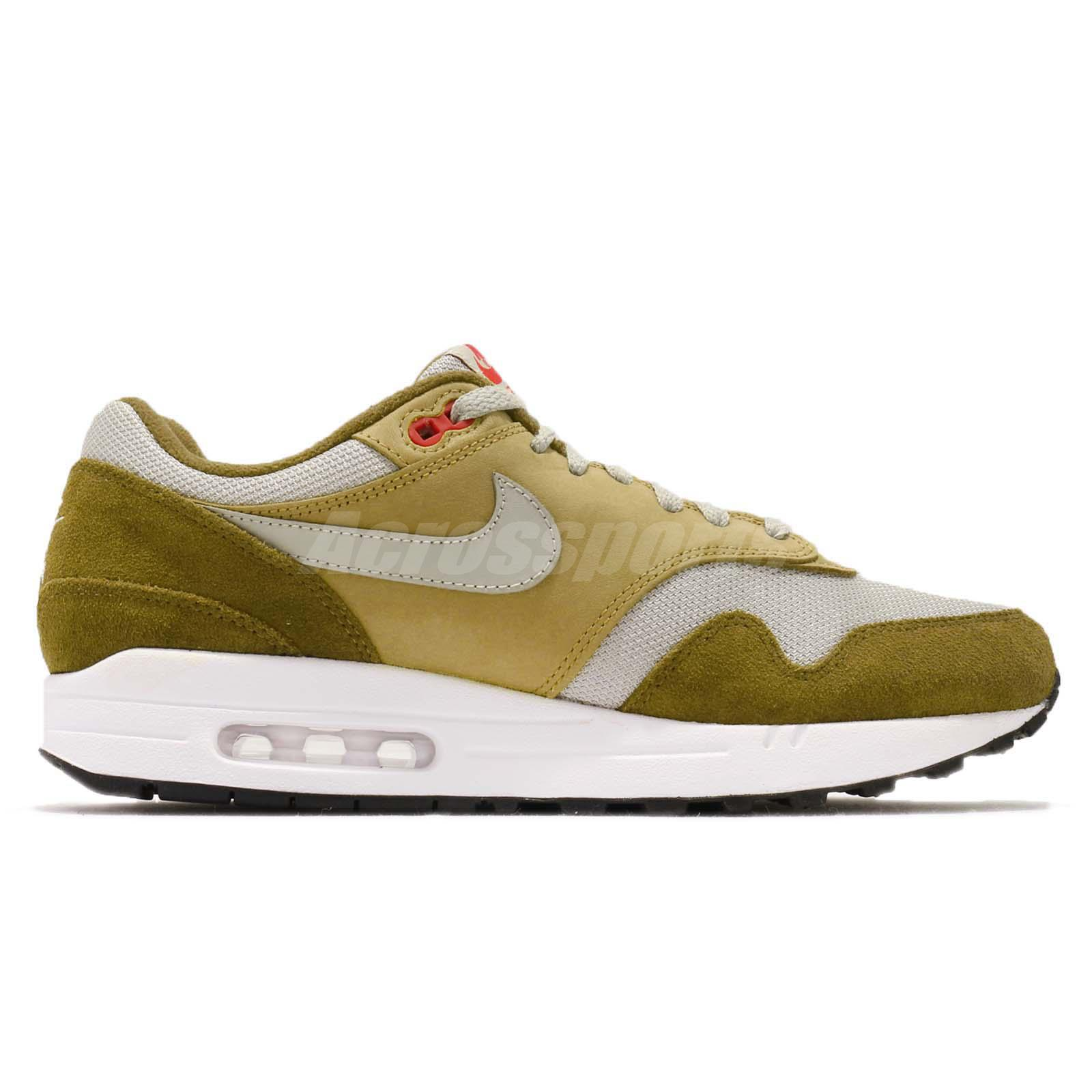 Details about atmos X Nike Air Max 1 Premium Retro Green Curry Men Running Shoes 908366 300