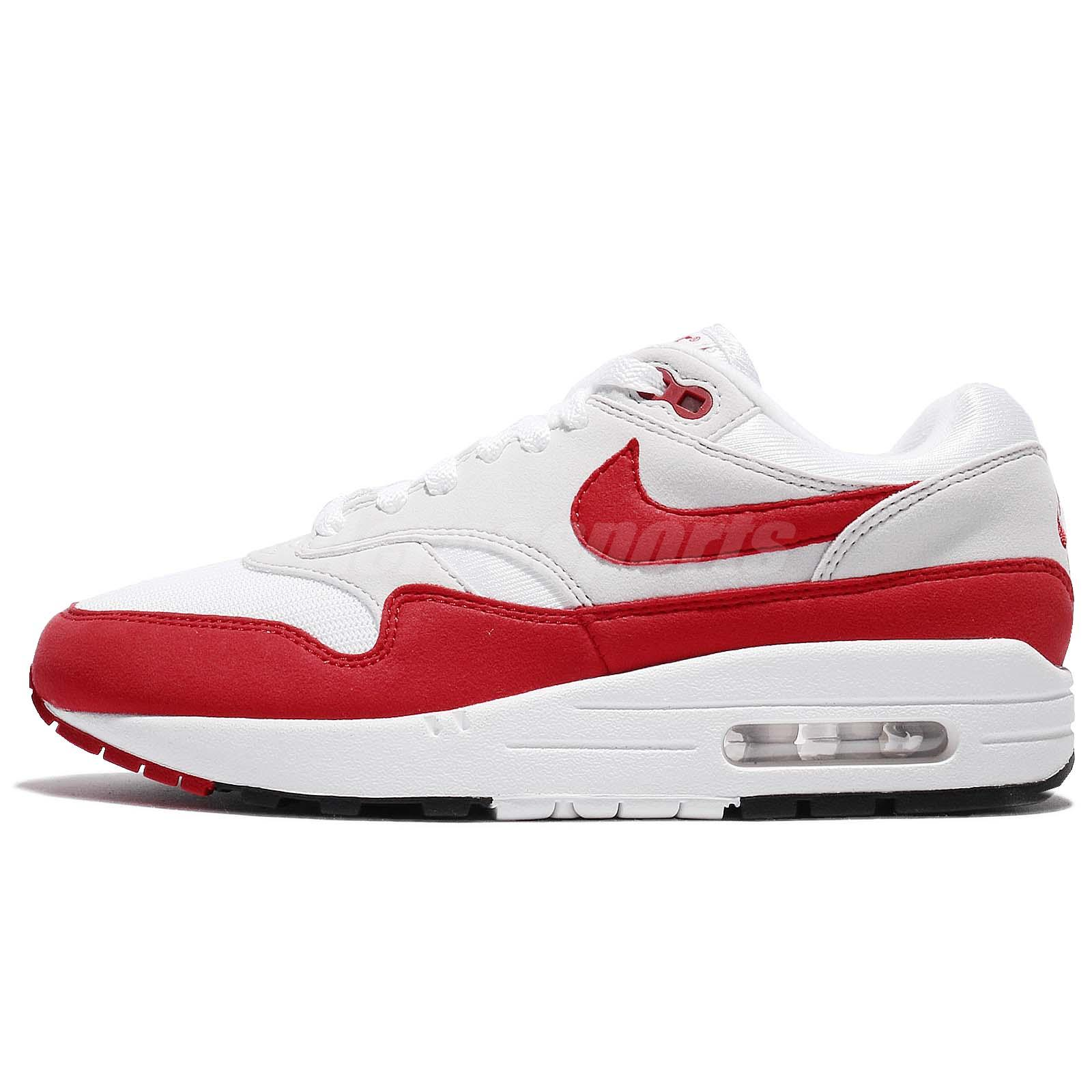 Nike Air Max 1 OG 30th Anniversary University Red White 2018 Men DS  908375-103 10eb8e4c3