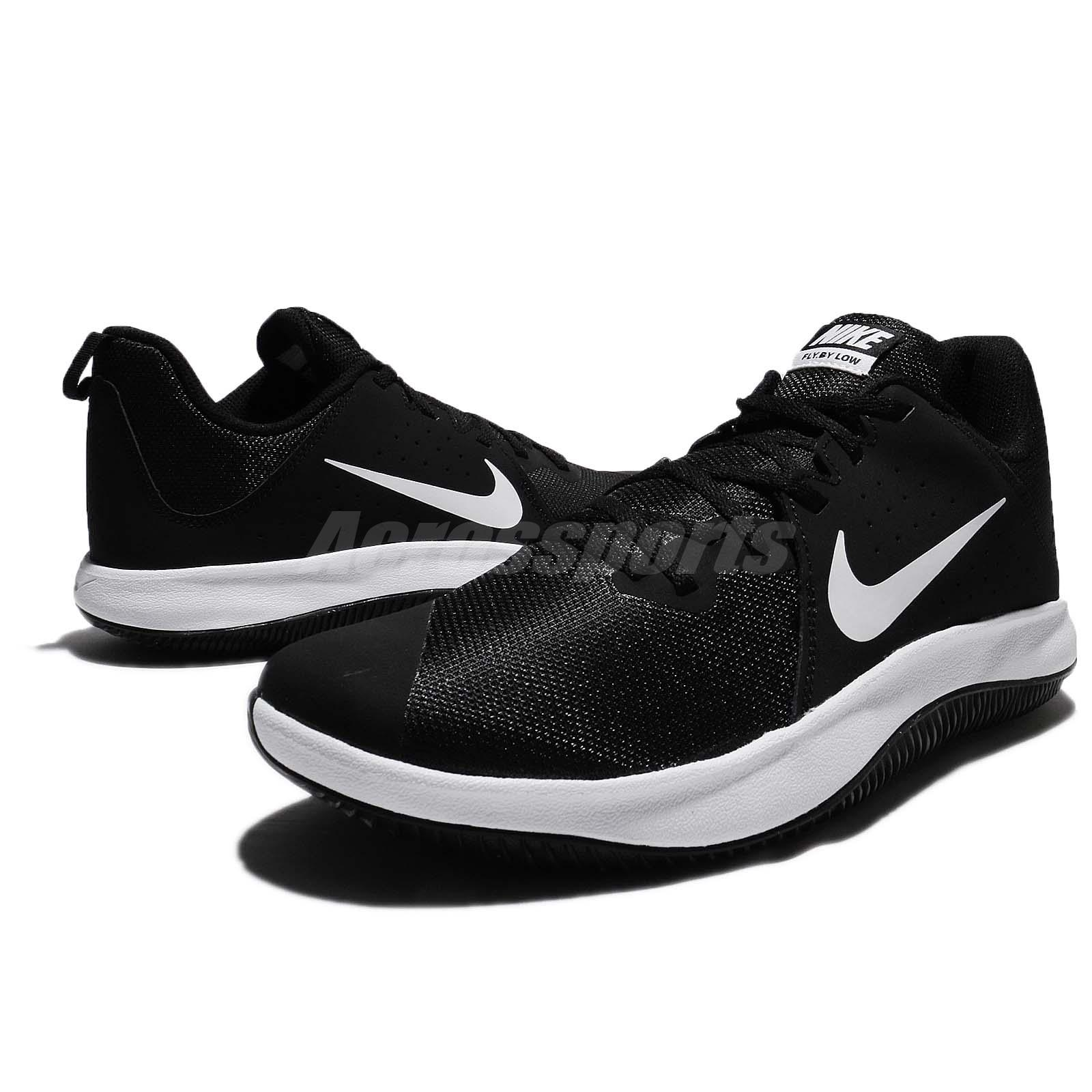 a141f3369d4f Nike Fly.By Low Black White Men Basketball Shoes Sneakers Trainers ...