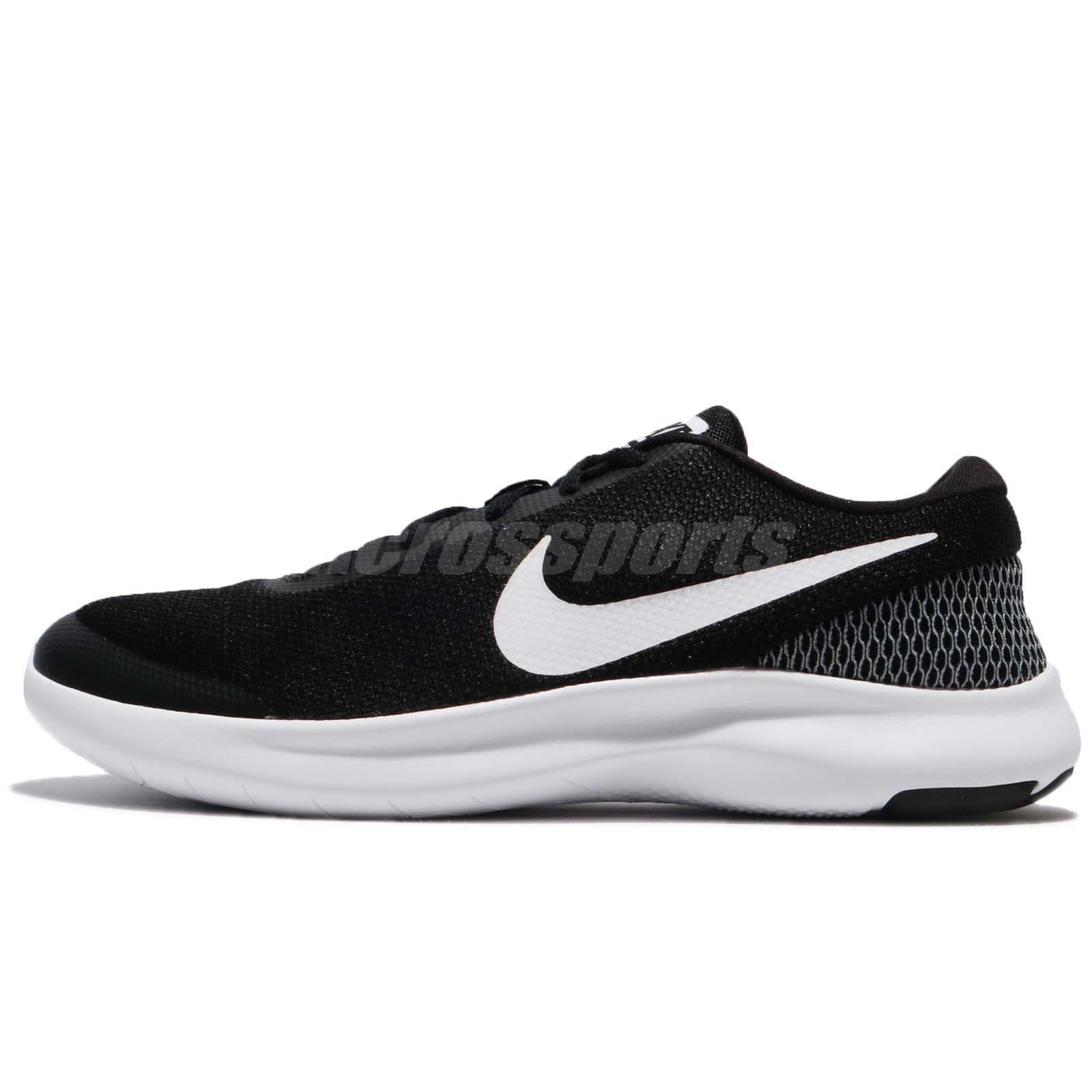 14008a8b3c2a5 Nike Flex Experience RN 7 VII Black White Men Running Shoes Sneakers  908985-001