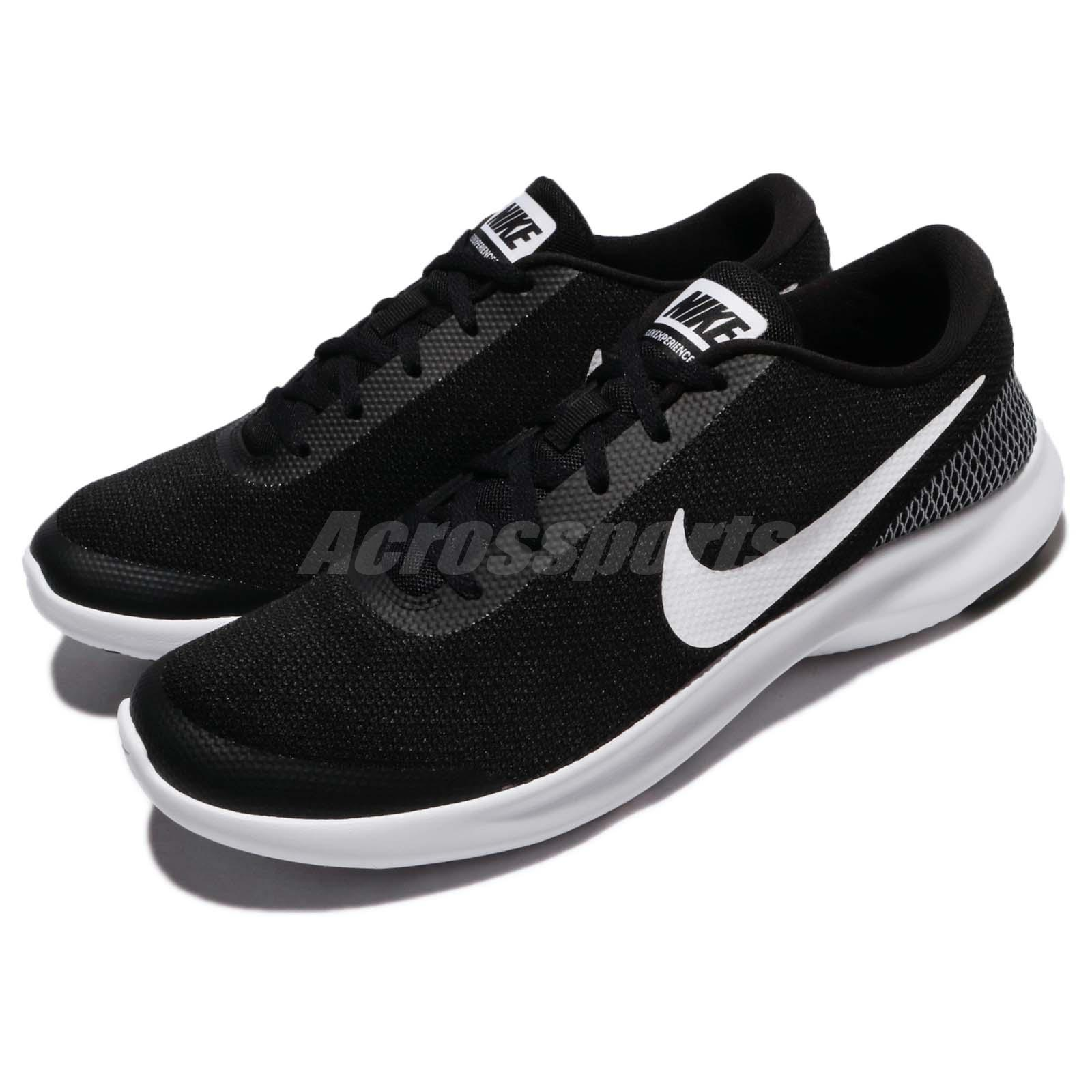 7e25fe16fc6 Details about Nike Flex Experience RN 7 VII Black White Men Running Shoes  Sneakers 908985-001