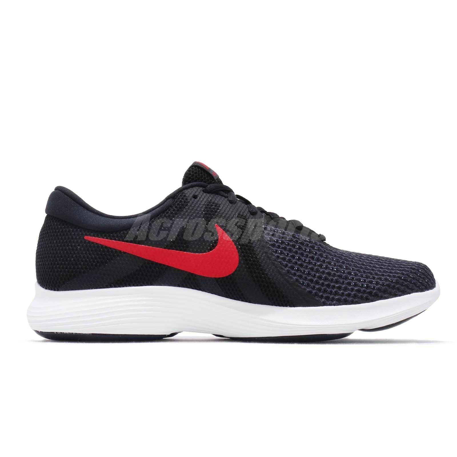 Black Red Grey Men 908988 Nike Details About Shoes Sneakers 4 Revolution White Running 011 7yIf6Ybgv