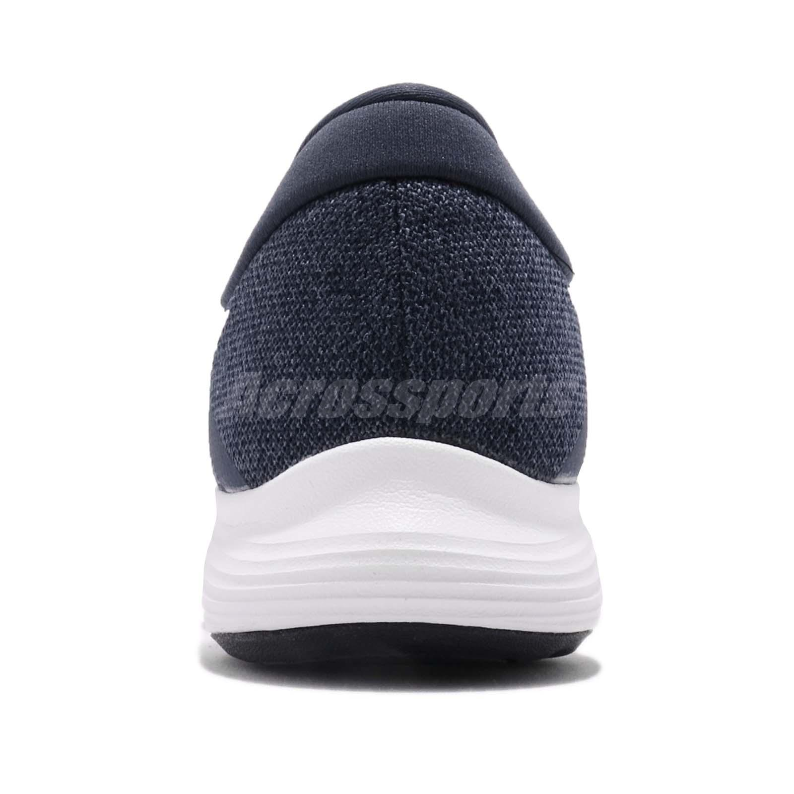a8b5f0ae47aee Nike Revolution 4 IV Thunder Blue White Men Running Shoes Sneakers ...