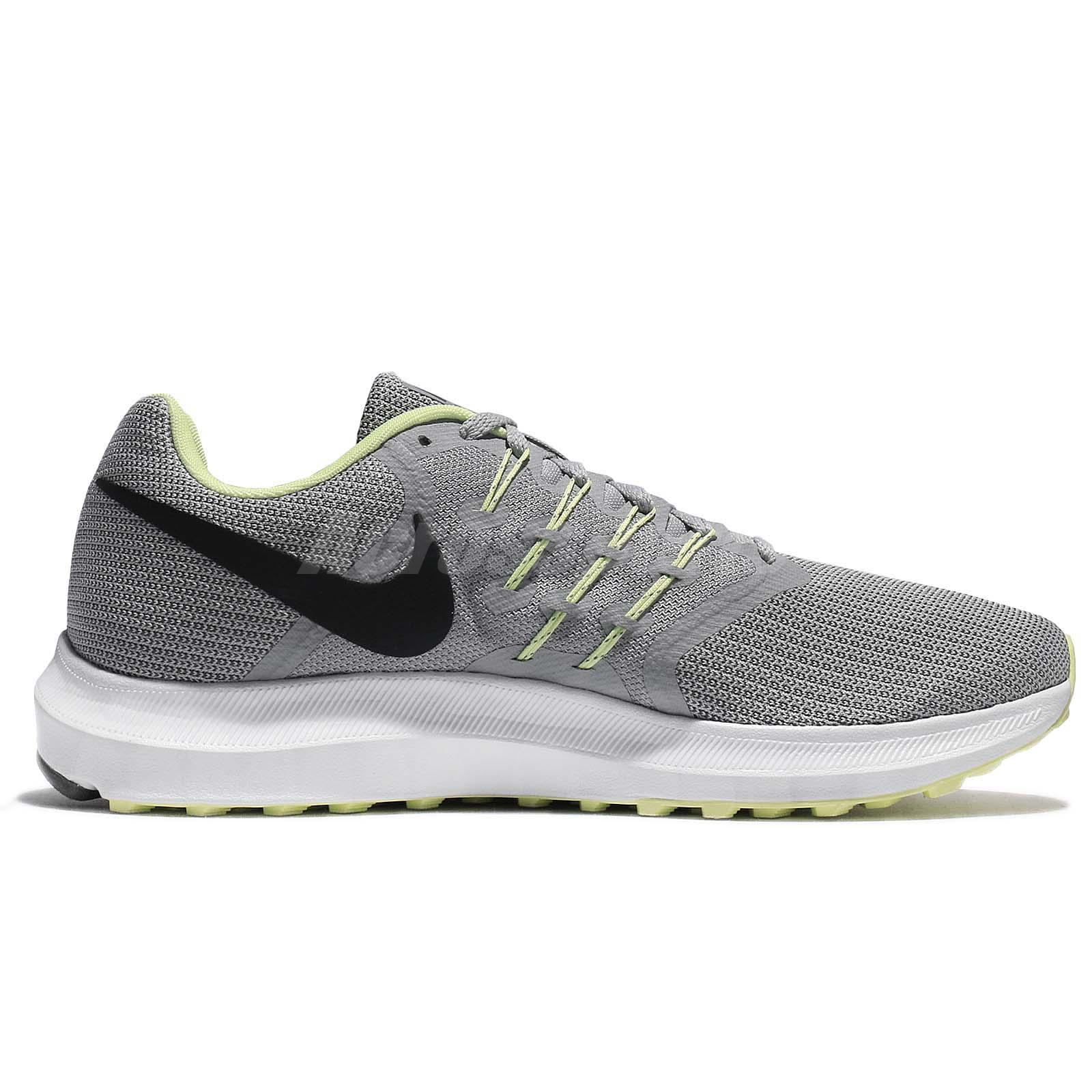 652fbb4735c46 Nike Run Swift Wolf Grey Obsidian Mens Running Shoes Sneakers 908989 ...