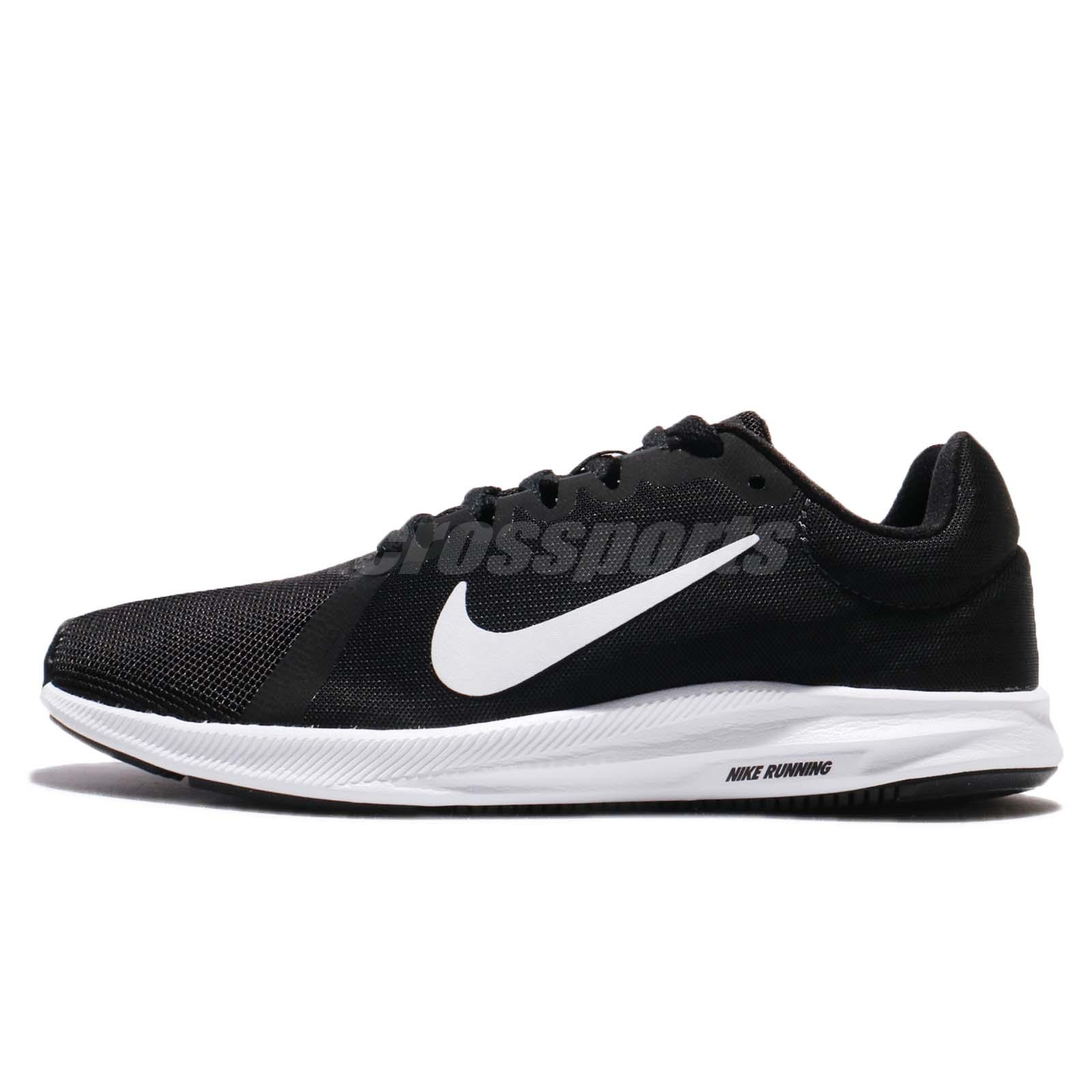 c40ba5590d7f Wmns Nike Downshifter 8 VIII Black White Anthracite Women Running 908994-001