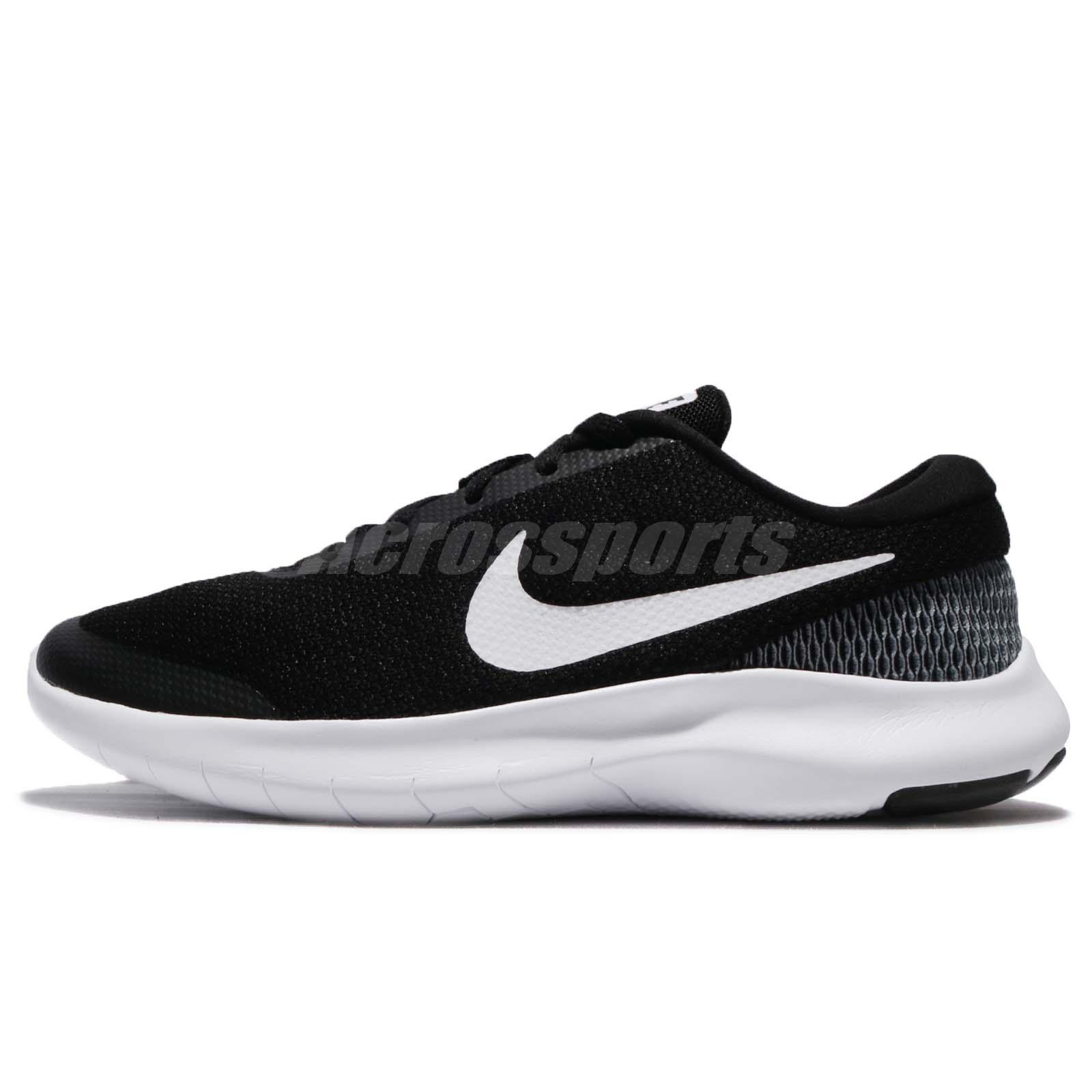 25bd52941237 Wmns Nike Flex Experience RN 7 VII Black White Women Running Shoes 908996 -001