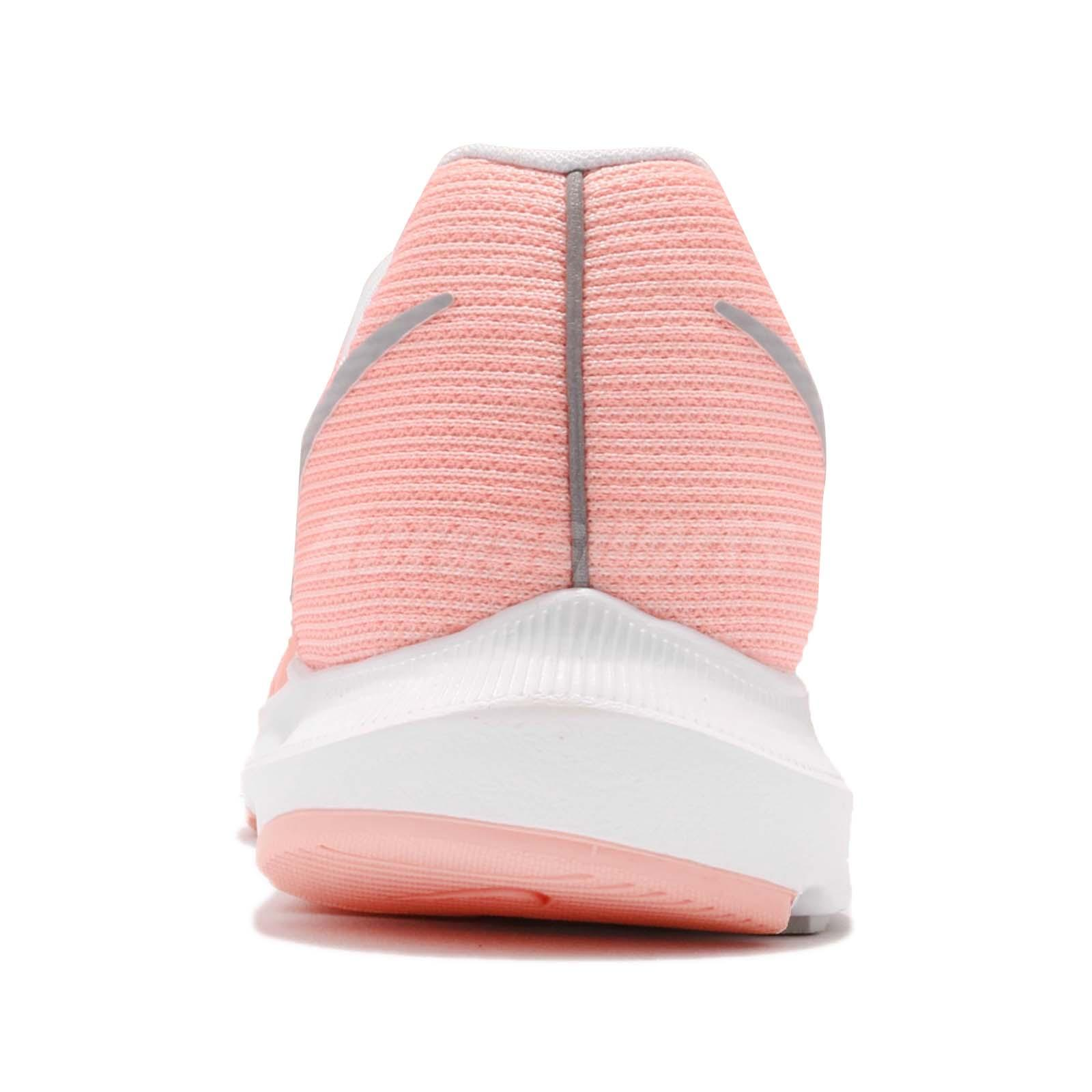 9f9cf8c80df Nike Wmns Run Swift Bleached Coral Pink Grey Womens Running Shoes ...