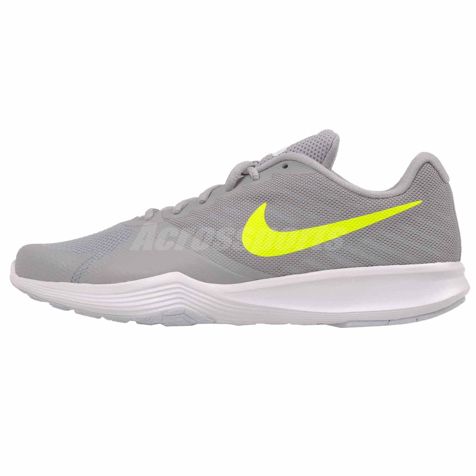 f2f8b202d58cb Nike Wmns City Trainer Cross Training Womens Shoes Grey Volt NWOB 909013-014