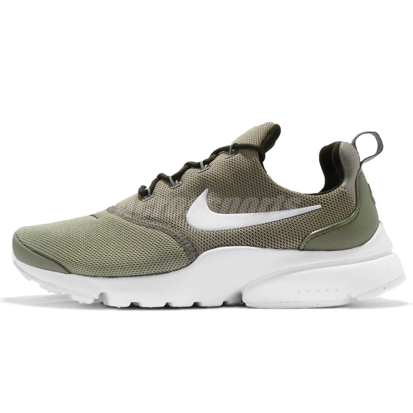 official photos b9944 1443b Details about Wmns Nike Presto Fly Dark Stucco Green Women Running Shoes  Sneakers 910569-008