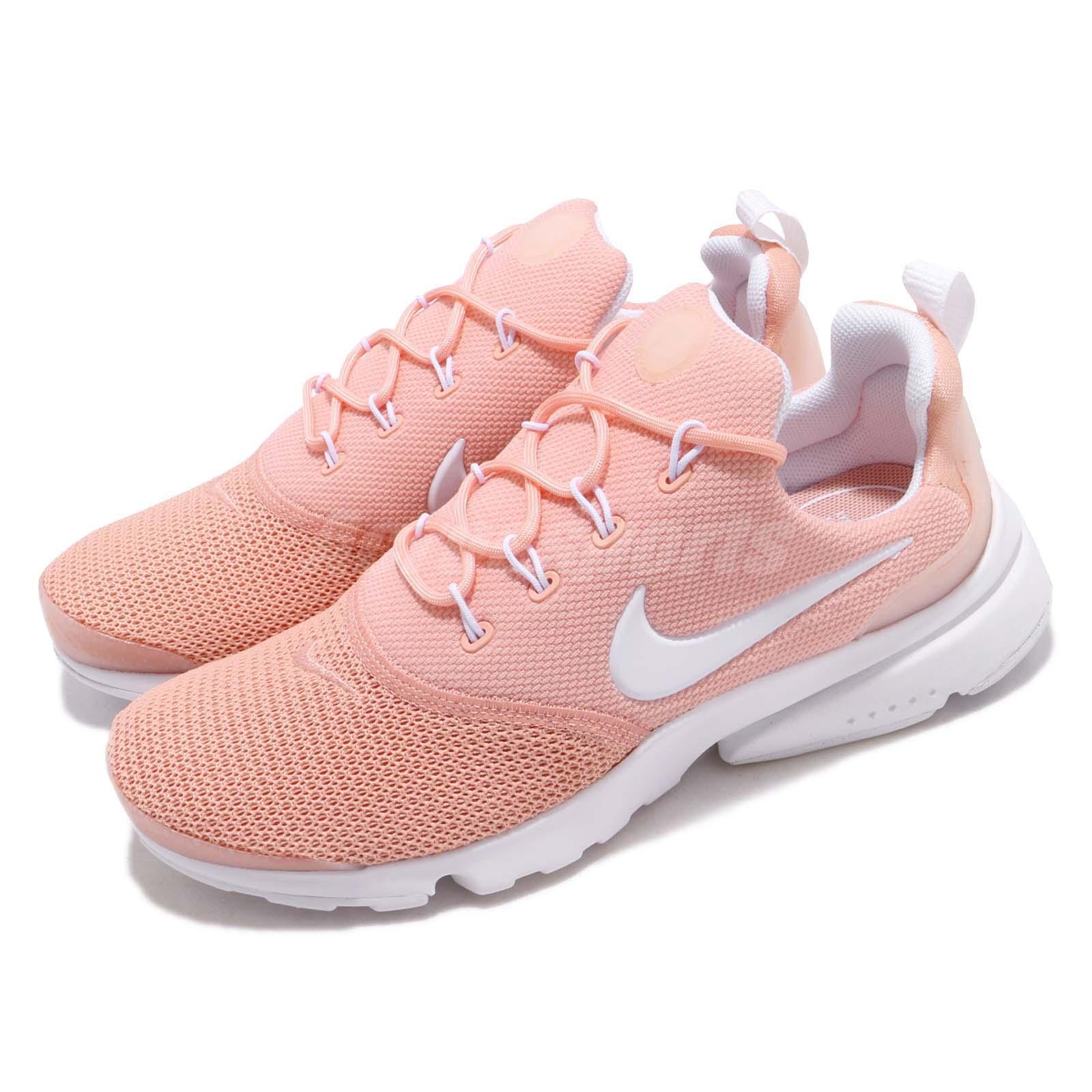 official photos c9b2b b2207 Details about Nike Wmns Presto Fly Coral Stardust White Women Running Shoes  Sneaker 910569-605