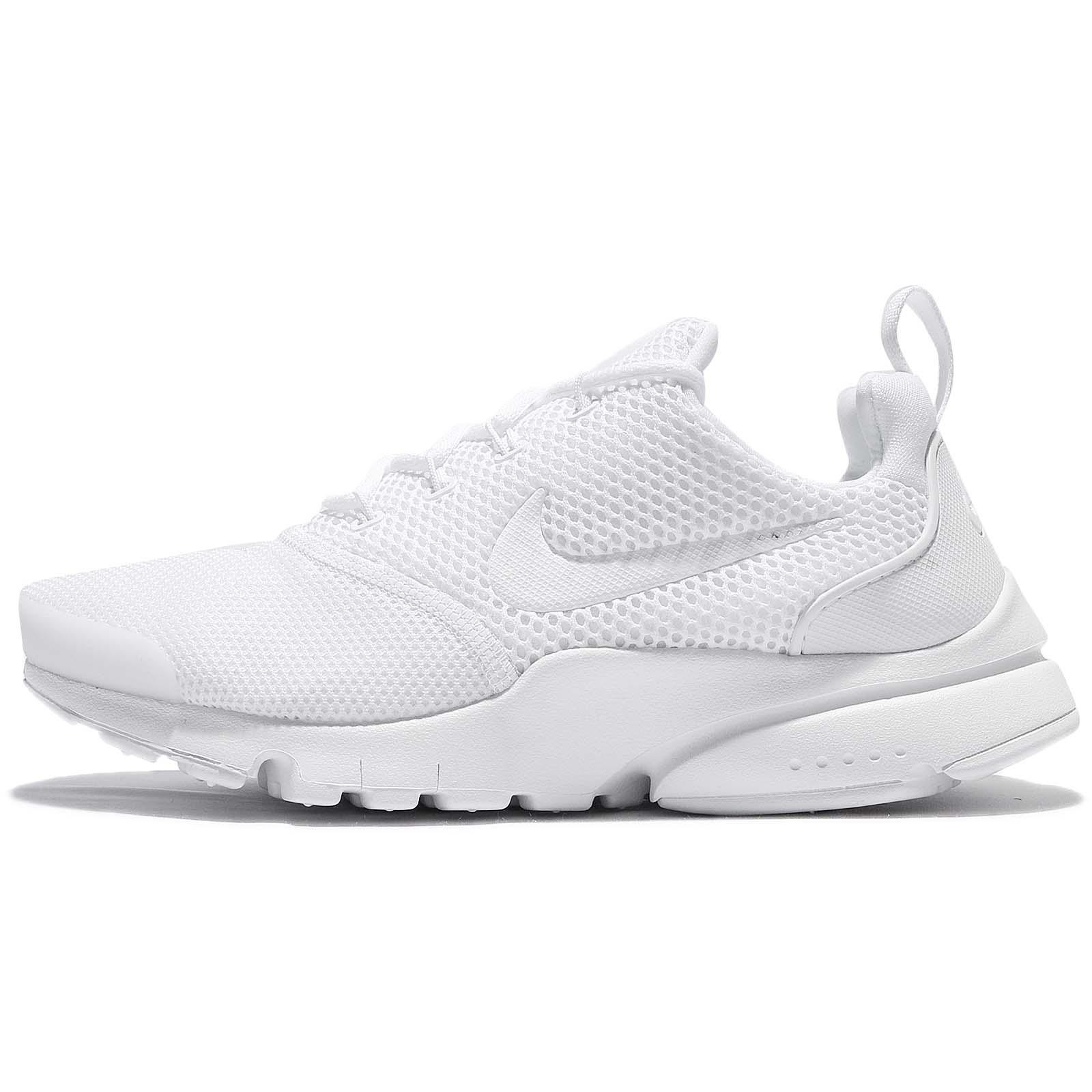 Nike Presto Fly GS Triple White Kids Women Running Shoes Sneakers 913966-101