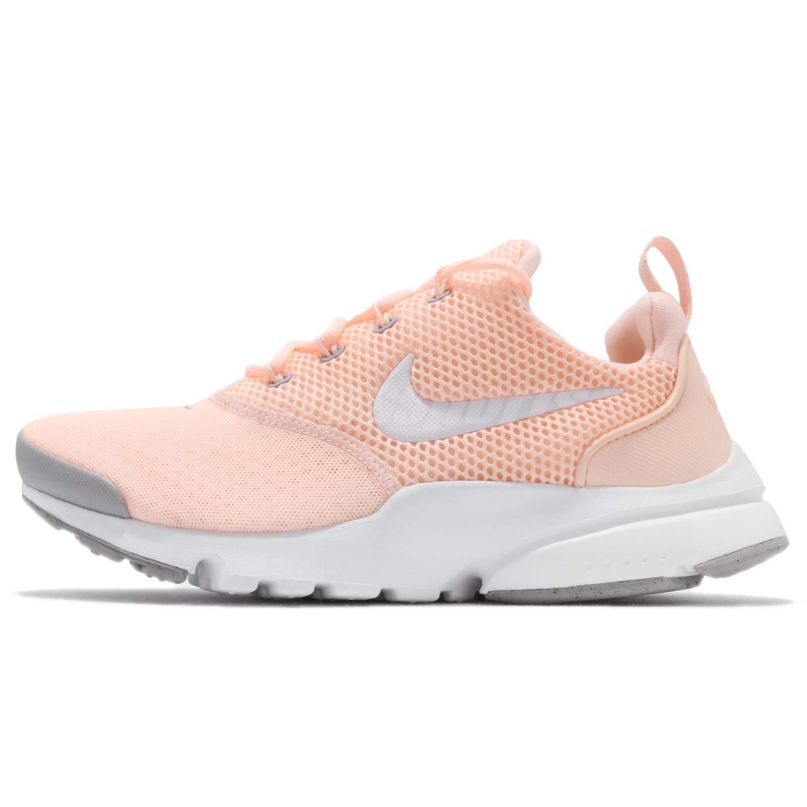 7cbfe3159d31b Nike Presto Fly GS Crimson Tint White Kids Youth Women Running Shoes 913967- 800