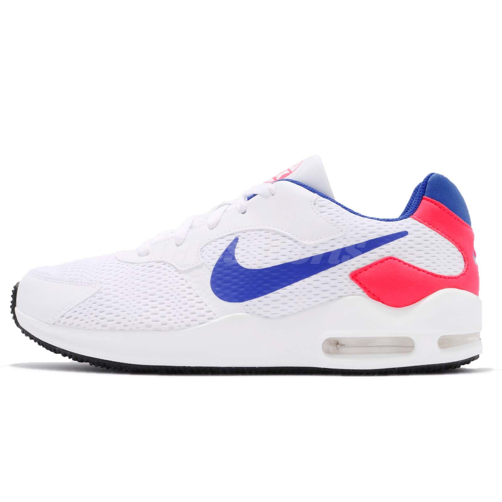 5ad0284ee9 ... get nike air max guile white ultramarine solar red men running shoes  916768 101 30342 72e38
