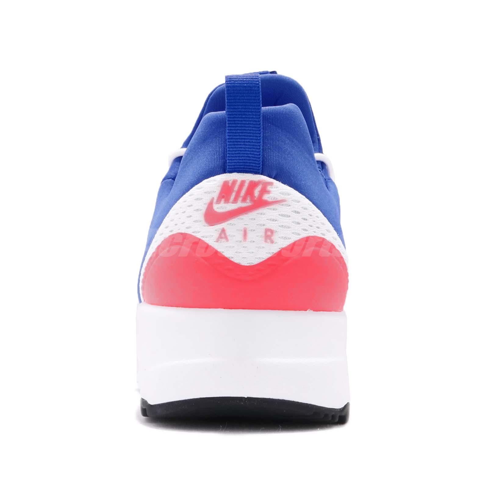 60a23b8c776 Nike Air Max Motion Racer White Ultramarine Solar Red Men Running ...