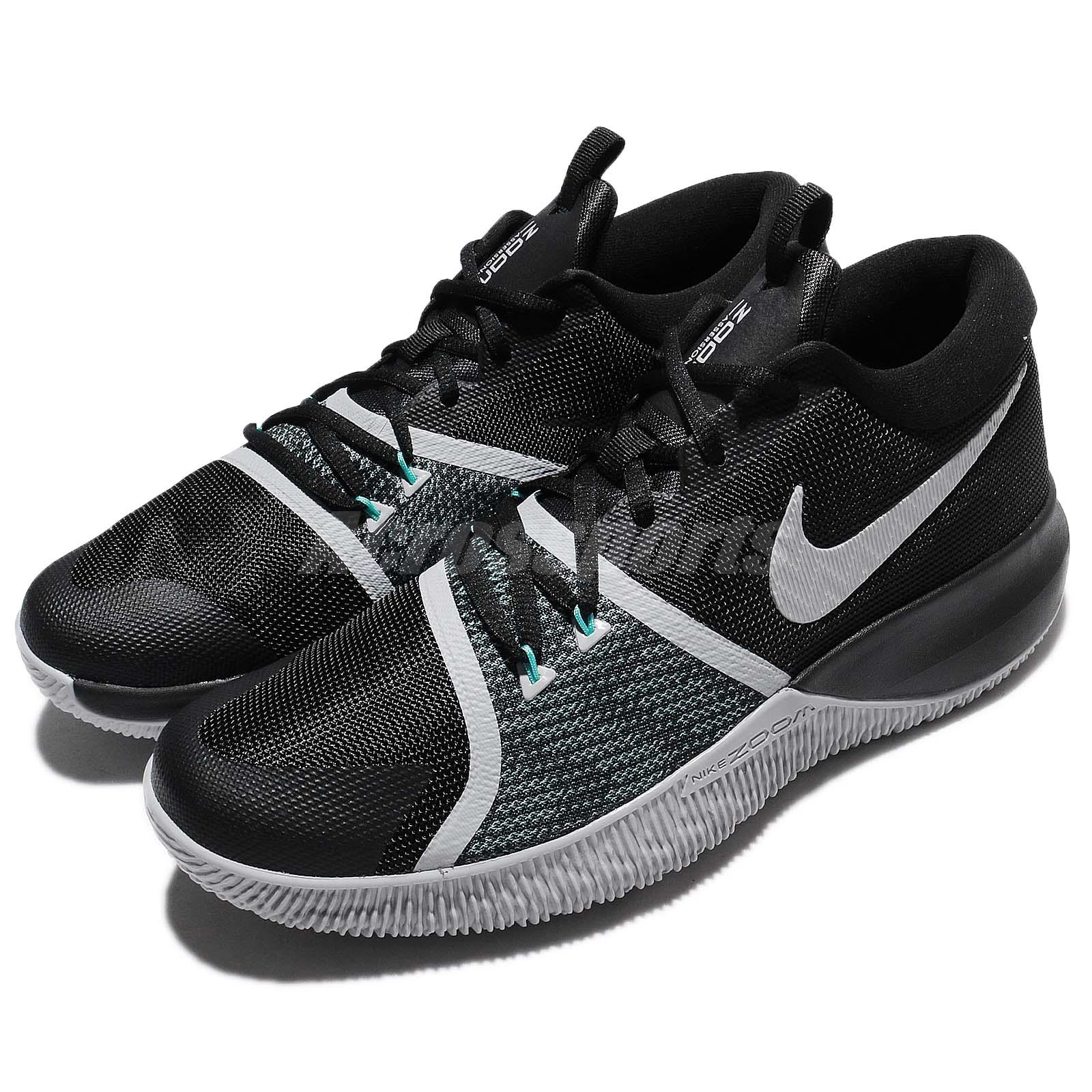 ad5cadfe593e Details about Nike Zoom Assersion EP XDR Air Black White Grey Men  Basketball Shoes 917506-004