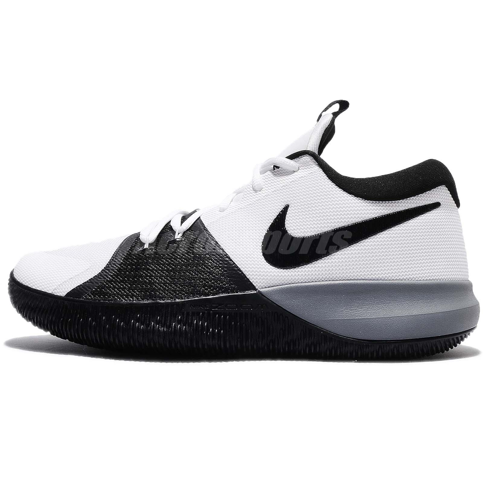 quality design c510f 9f79b Nike Zoom Assersion EP White Black Grey Men Basketball Shoes Sneakers  917506-100