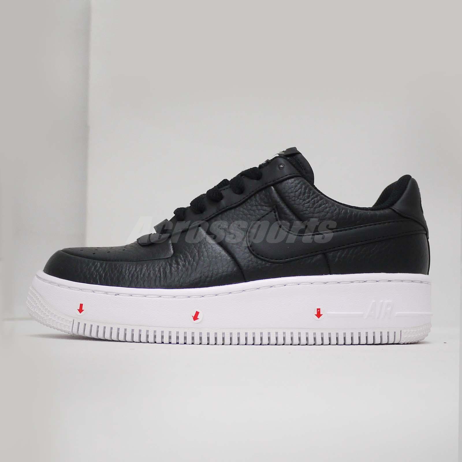Detalles acerca de Nike Air Force 1 W AF1 upstep pie izquierdo con decoloración Zapato de mujer 917588 001 mostrar título original