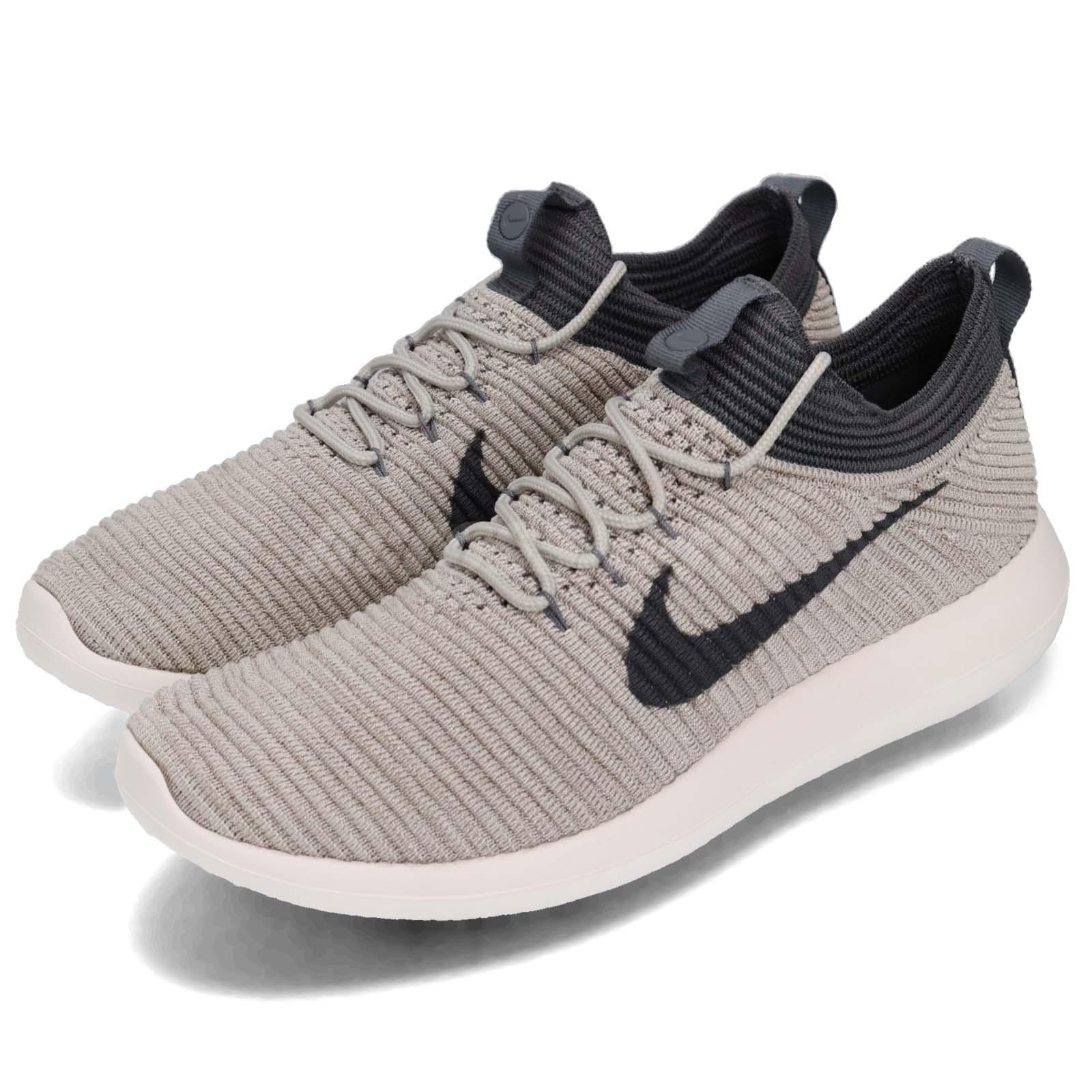 sneakers for cheap e2d22 f2e66 Details about Nike Wmns Roshe Two Flyknit V2 Pale Grey Women Running Shoes  Sneakers 917688-002