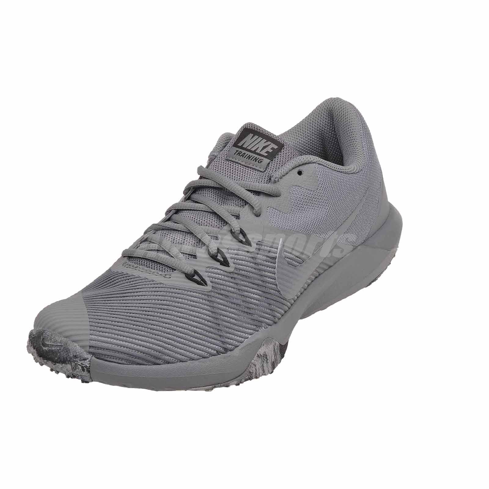 258c4d85628 Nike Retaliation TR Cross Training Mens Shoes Trainers Cool Grey ...