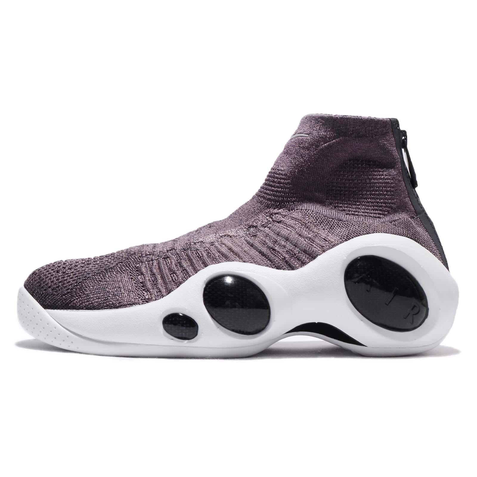 7c8f987b4419e6 Nike Flight Bonafide Plum Taupe Grey Dark Raisin Men Shoes Jason Kidd 917742 -200