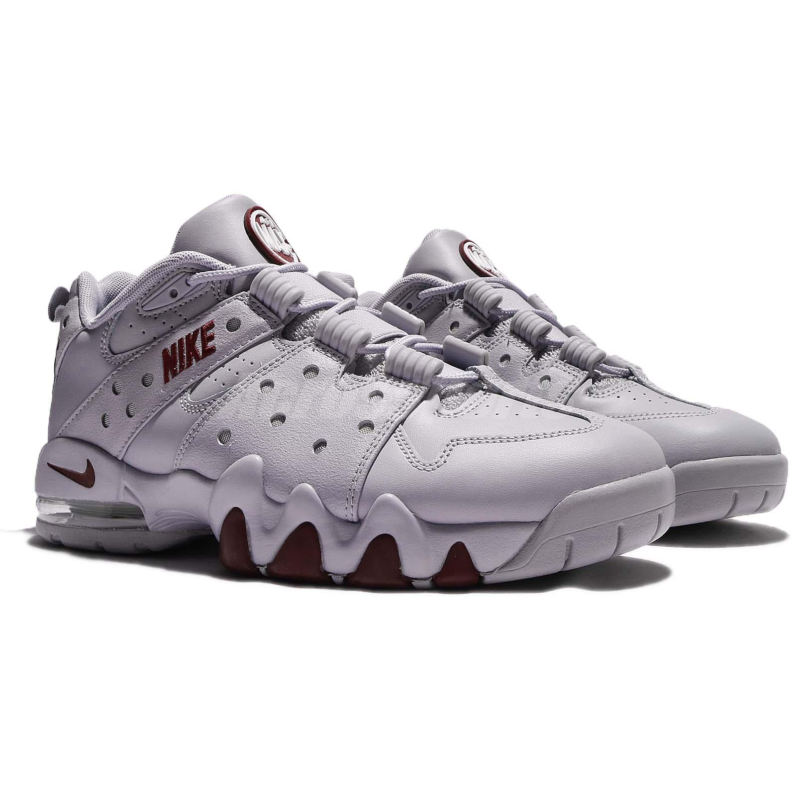 timeless design 6698c 7bfa9 ... inexpensive nike air max2 cb 94 low charles barkley grey red men  basketball shoe 6074d 1238c