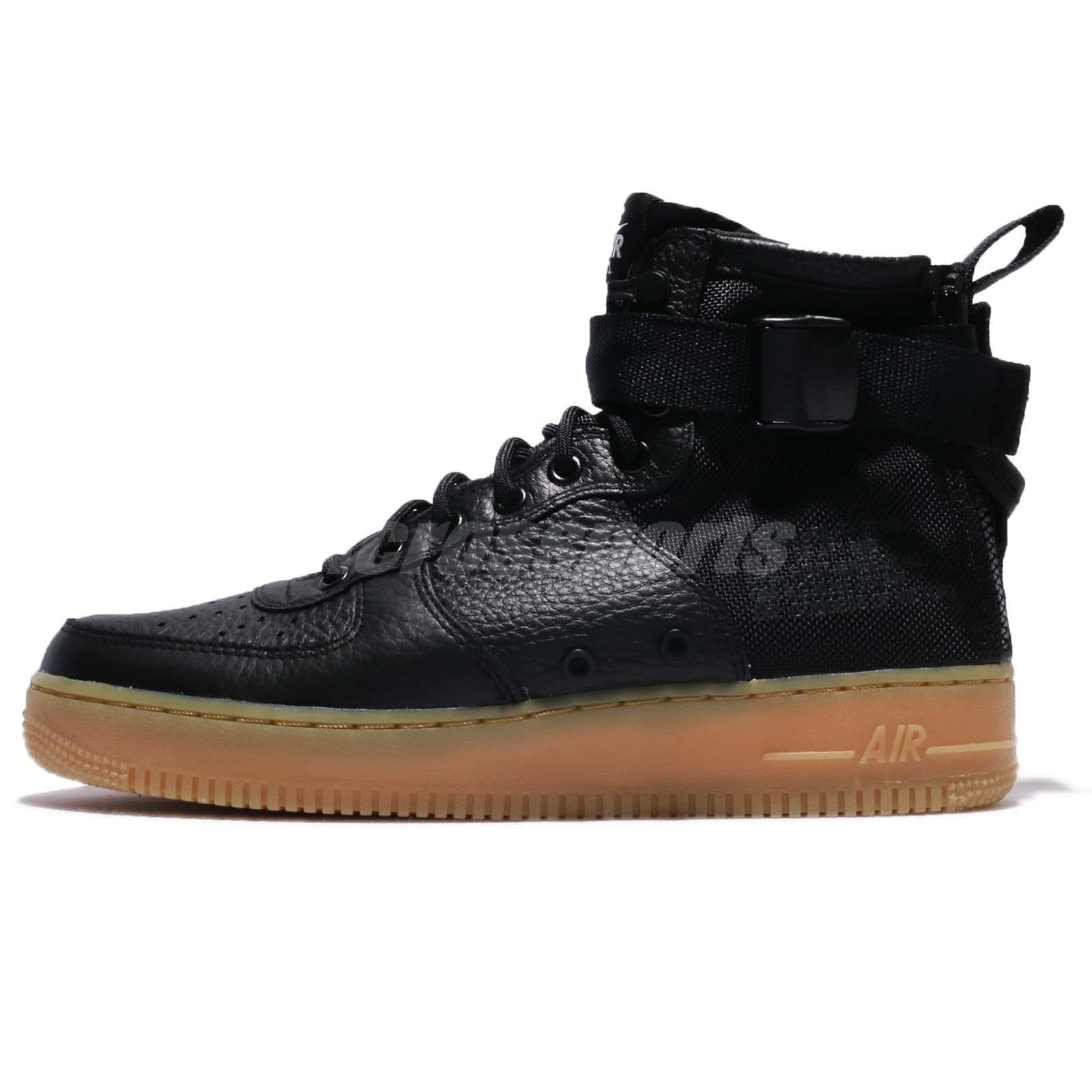 870f7474783dd5 Nike SF AF1 Mid Special Field Black Gum Light Brown Men Air Force 1  917753-003