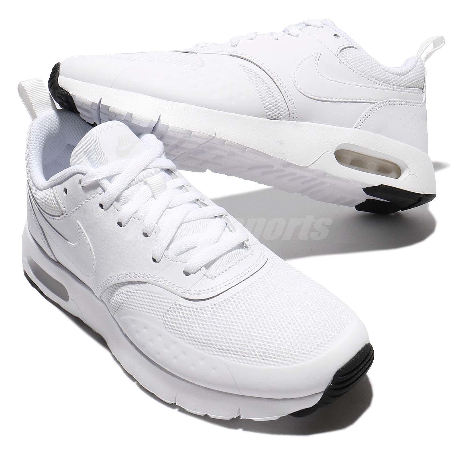 sports shoes 889a5 eea8b Nike Air Max Vision GS White Pure Platinum Kids Running Shoes ...